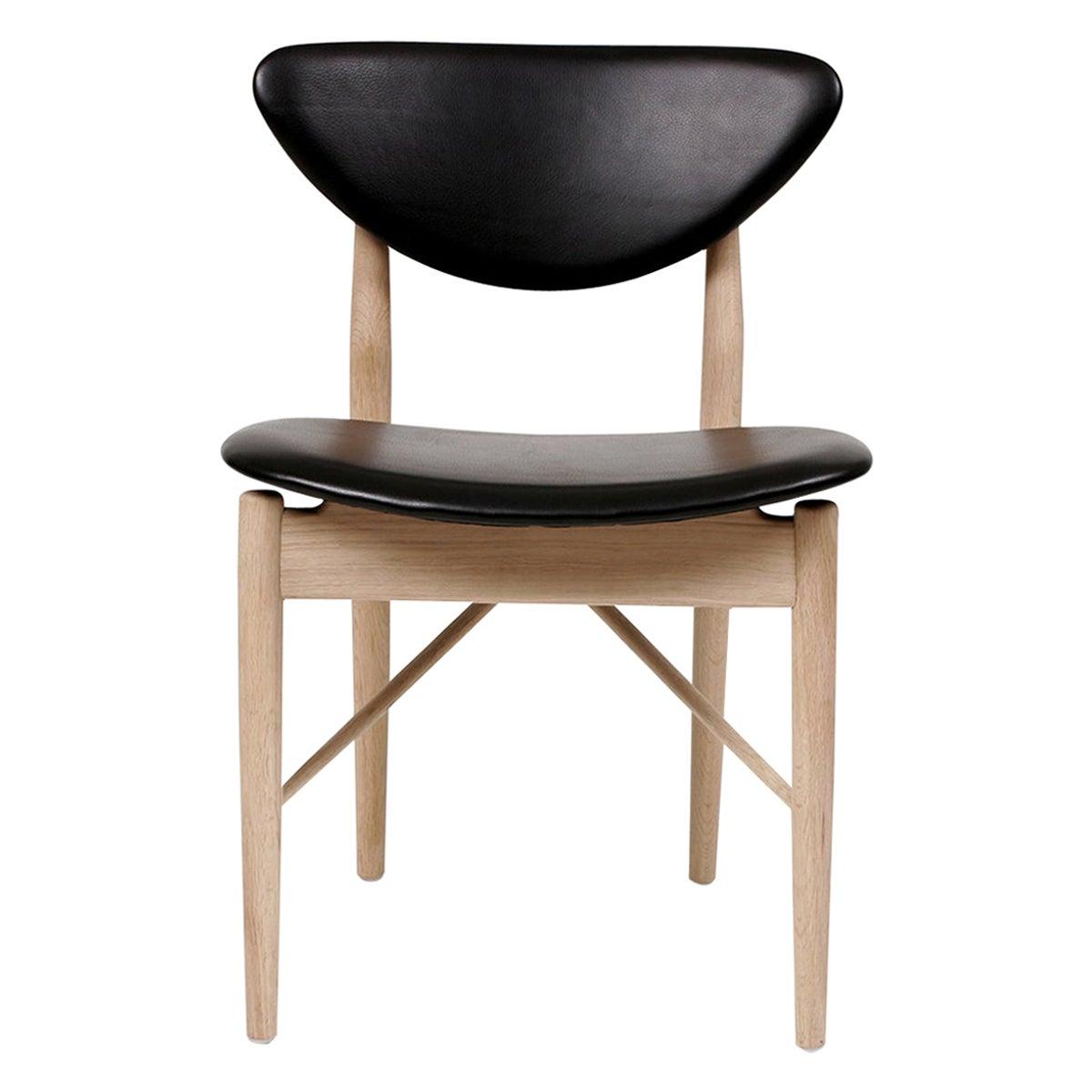 Finn Juhl 108 Chair, Wood and Leather by House of Finn Juhl