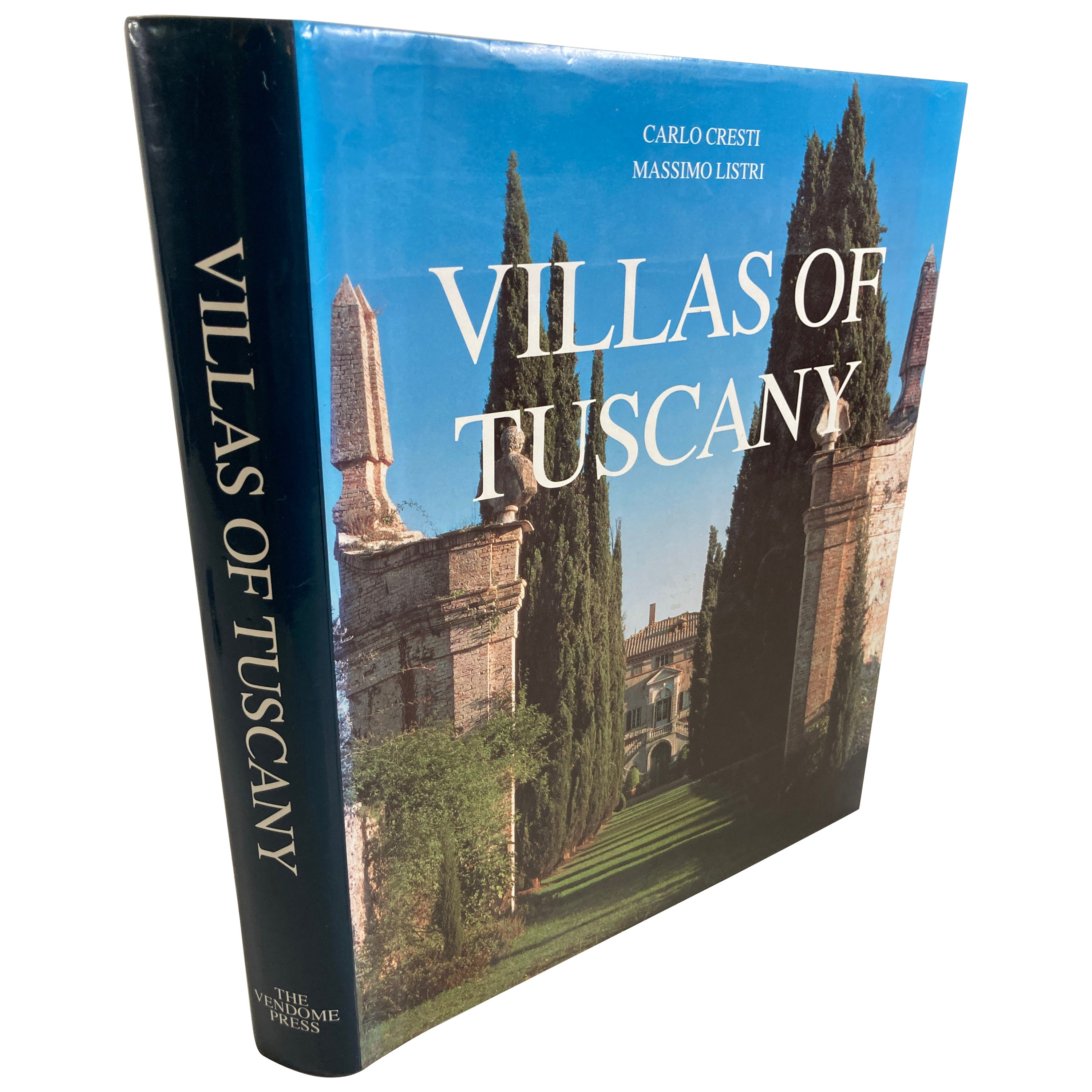 Villas of Tuscany Hardcover Hardcover Book