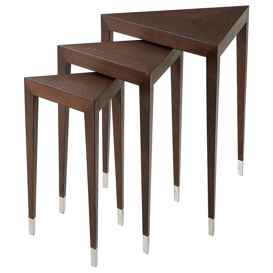 Italian Art Deco Nest of Tables