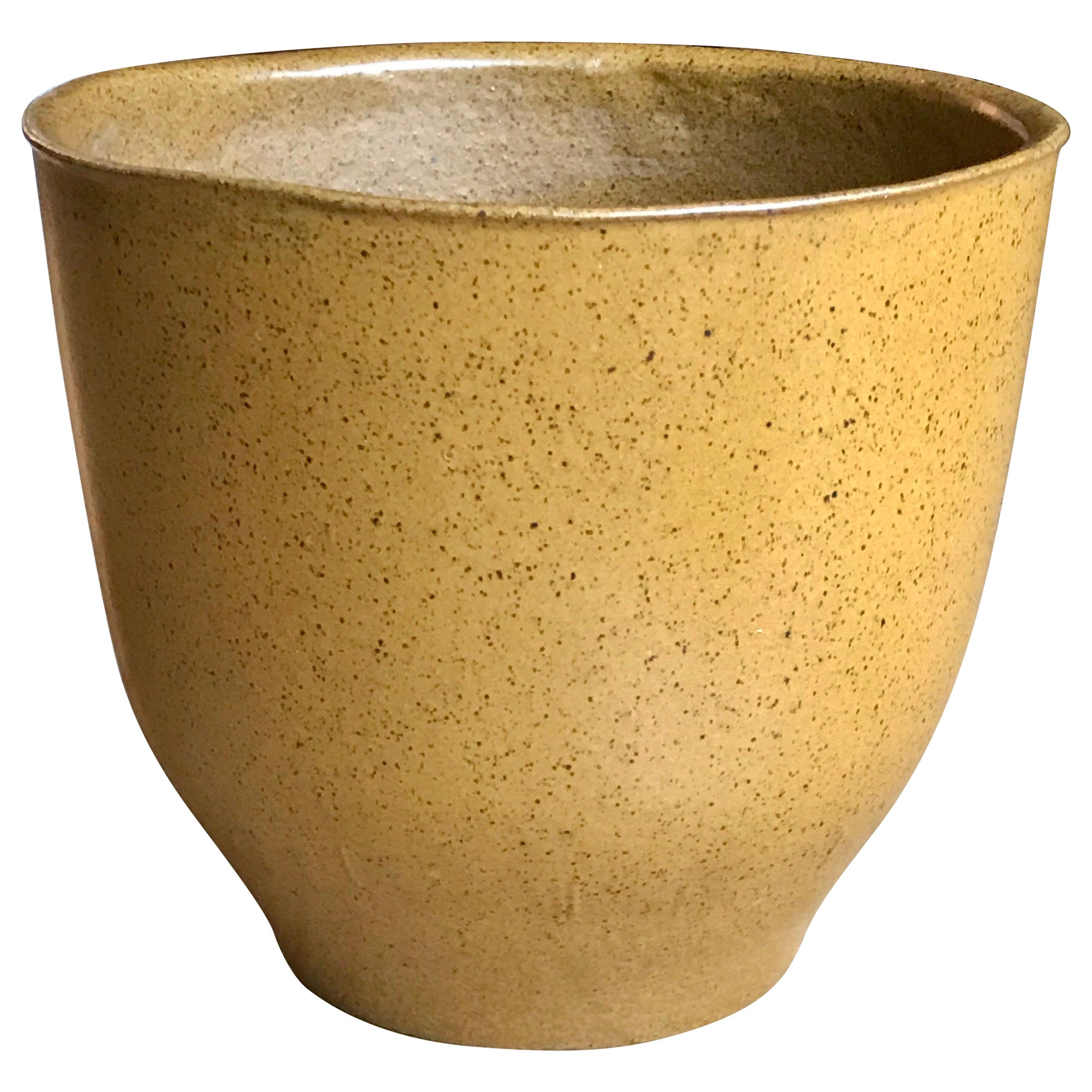 David Cressey Artisan Stoneware Planter, 1960s