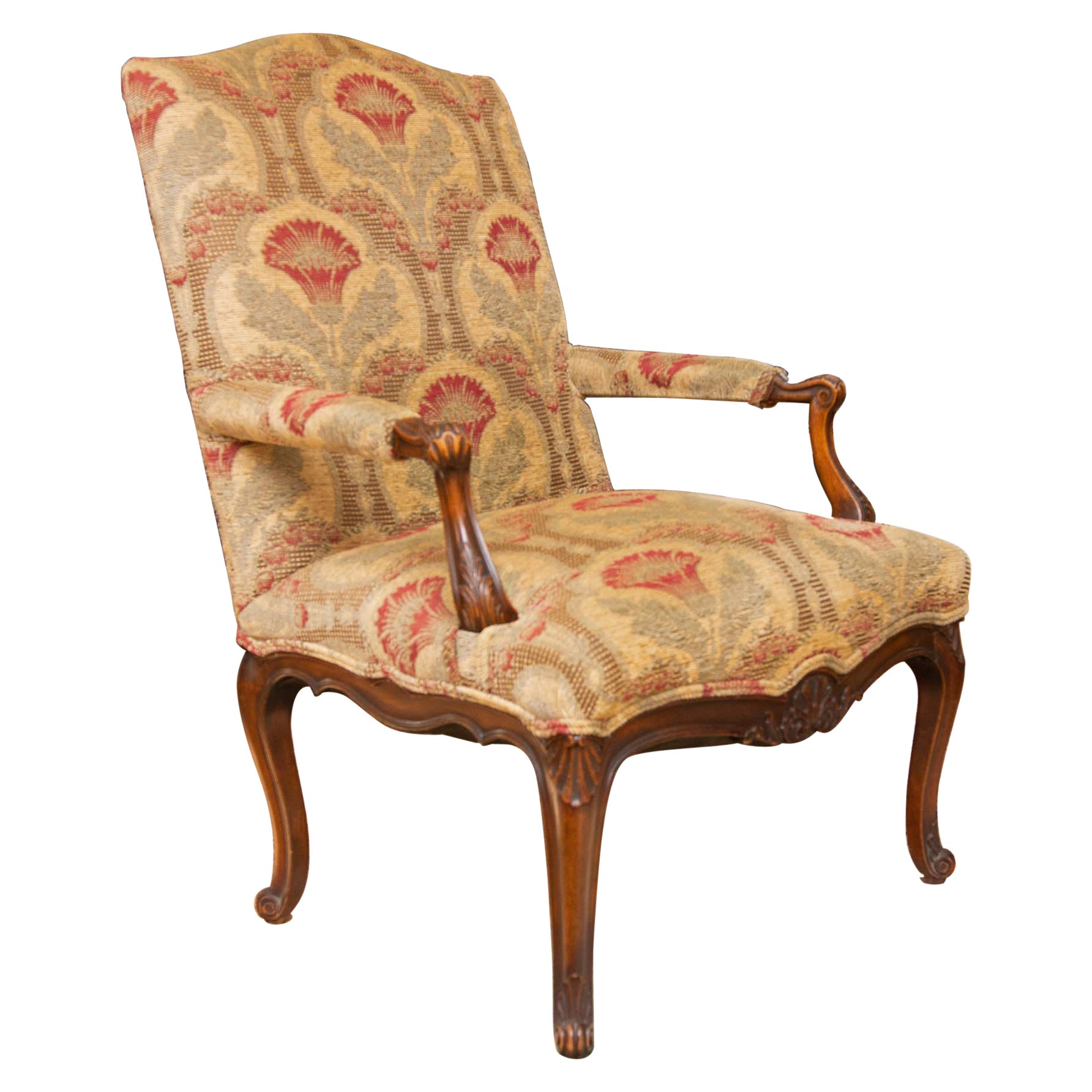 Louis XI Style French Fauteuil or Armchair