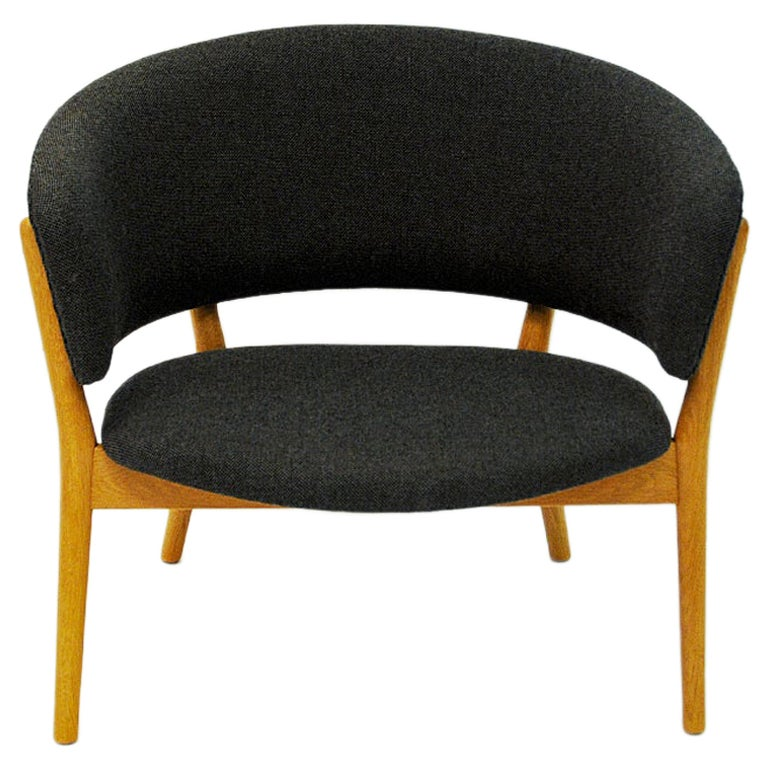 Danish Oak Easy Chair Mod ND83 by Nanna Ditzel, Denmark, 1950's