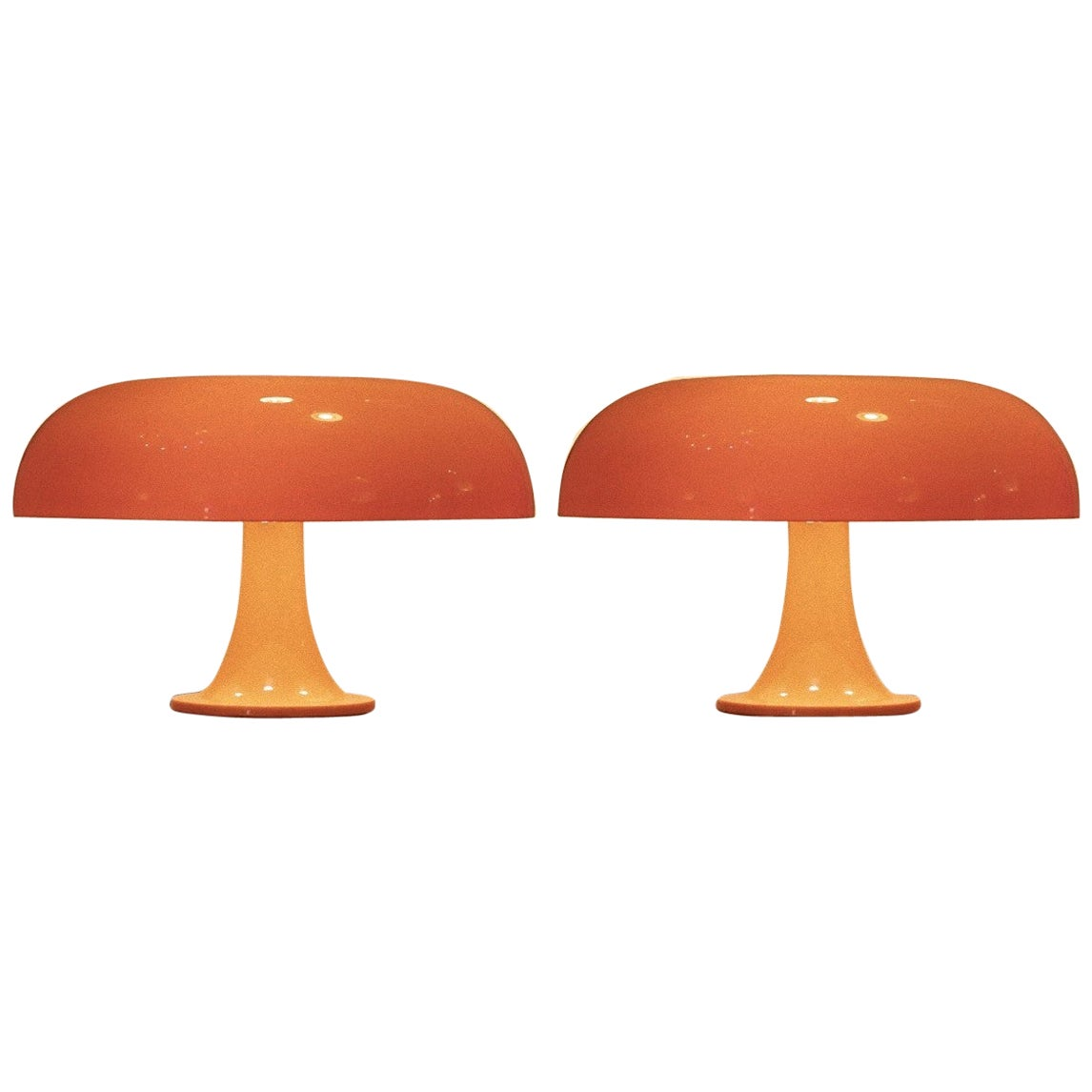 Nesso Lamps, Vintage Table Lamps by G. Mattioli for Artemide, 1960s