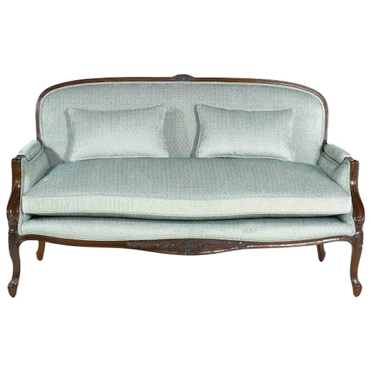 French Sophie Louis XV Canapé Sofa, 20th Century