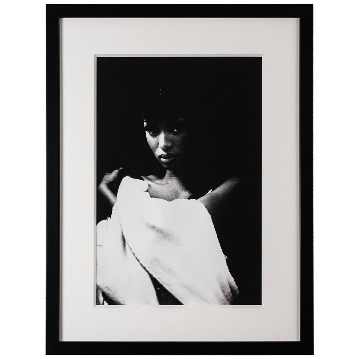 Original Photograph of Naomi Campbell by Karl Lagerfeld