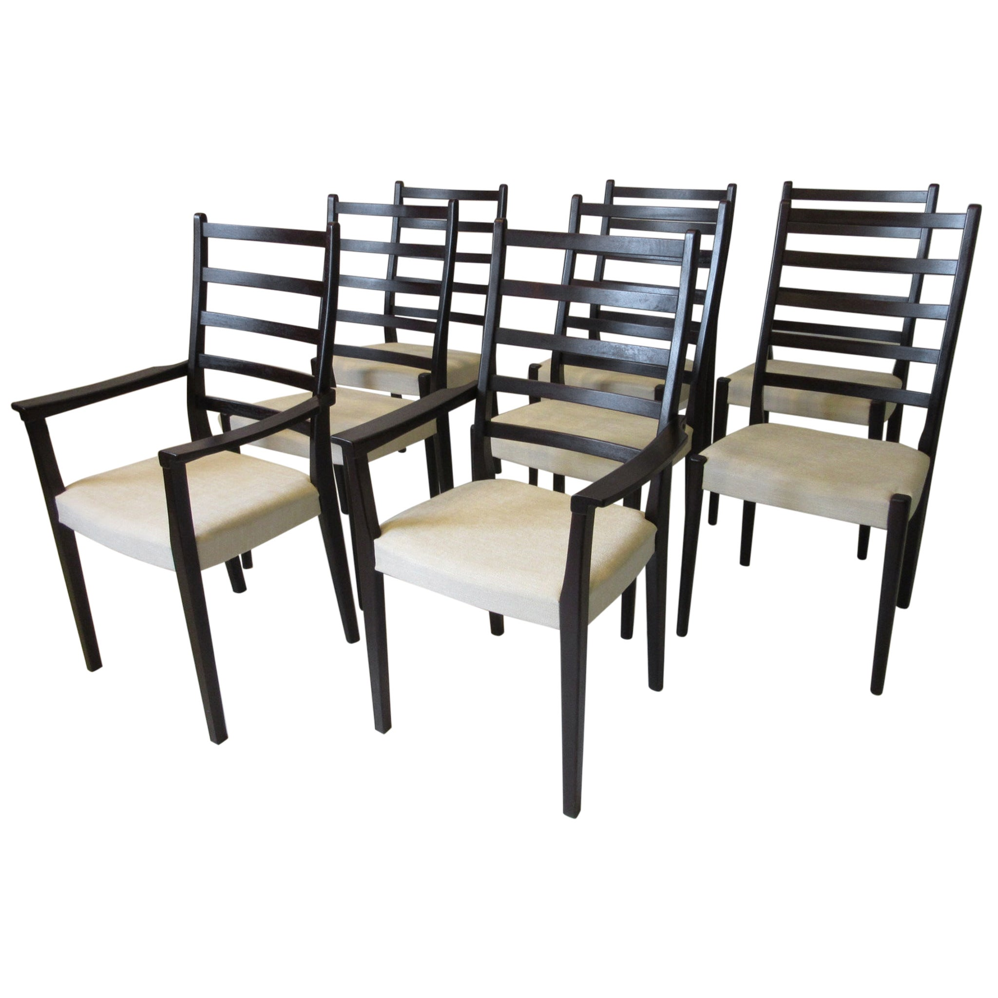8 Rosewood Dining Chairs by Svegard Markaryd, Sweden