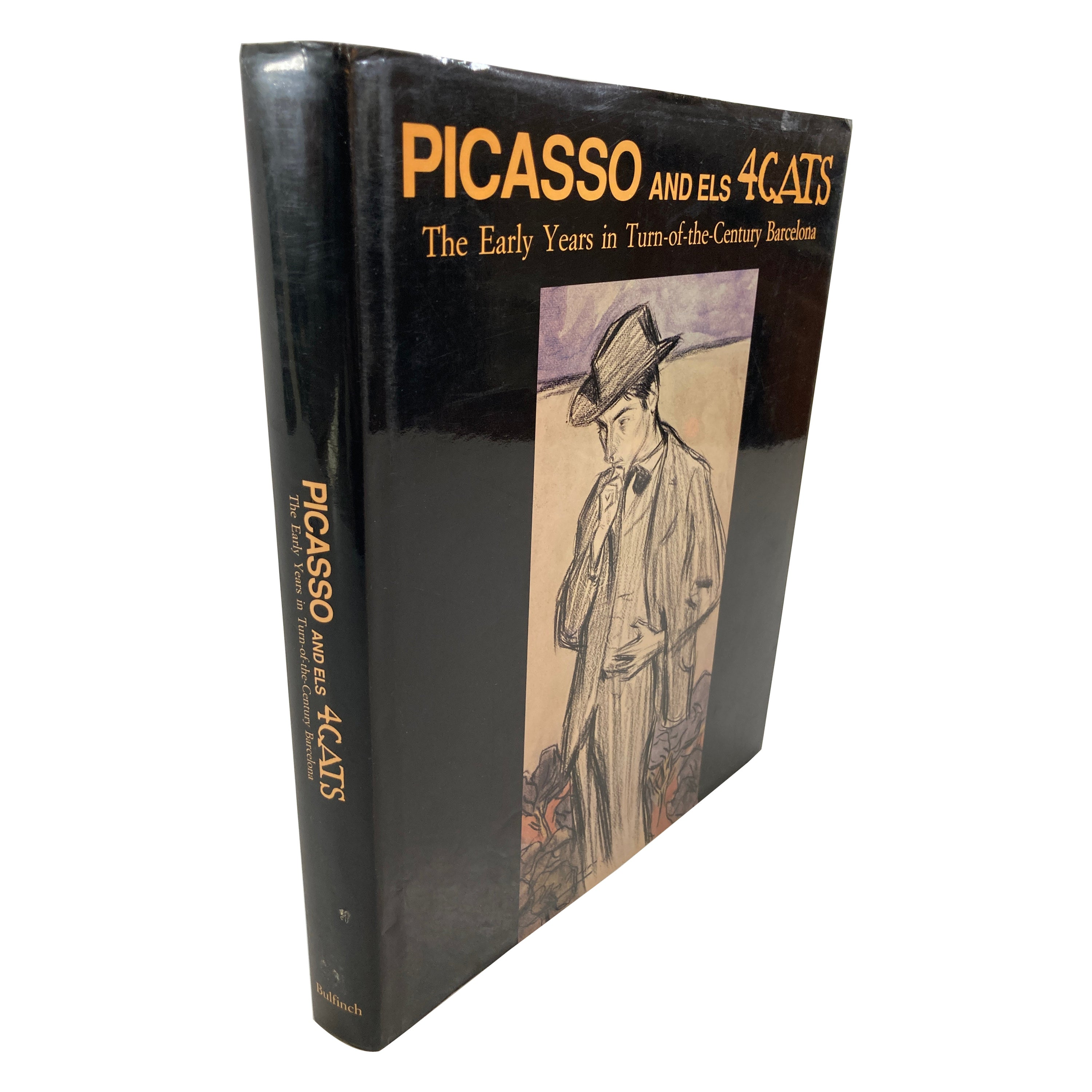 Picasso and els 4 Gats Book by Pablo Picasso Hardcover Book