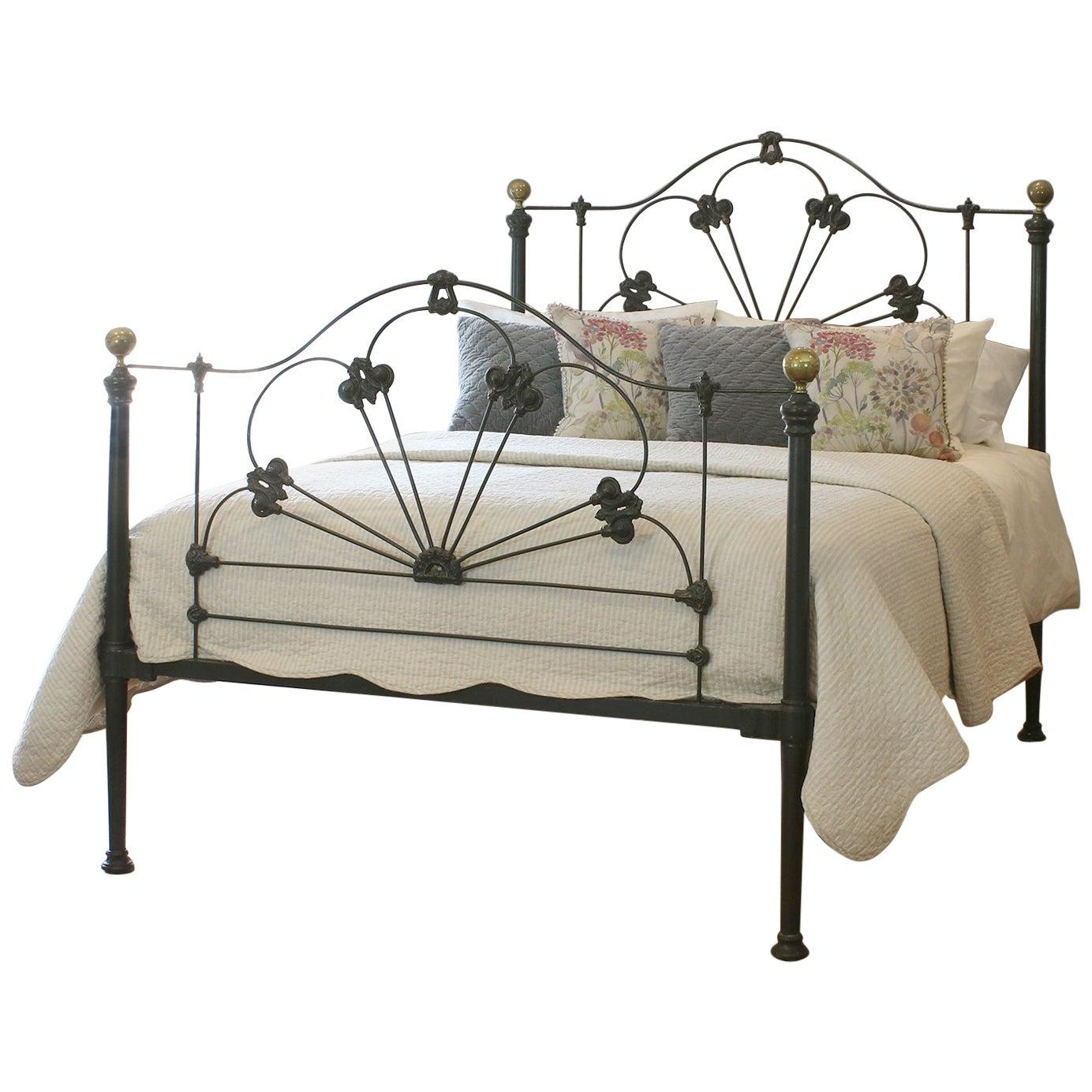 Cast Iron Mid Victorian Antique Bed MK226