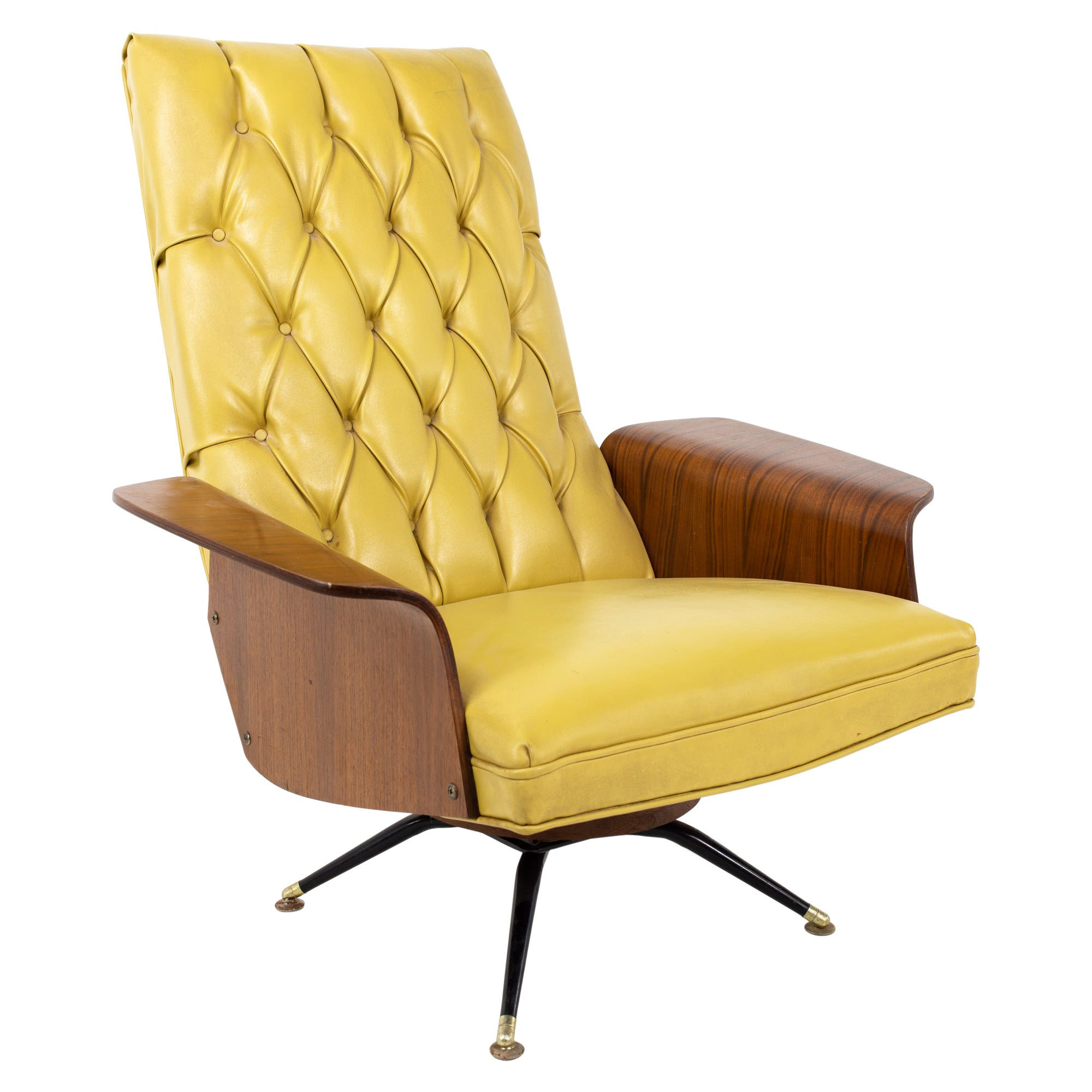 George Mulhauser for Plycraft Mister Chair Style Mid Century Lounge Chair