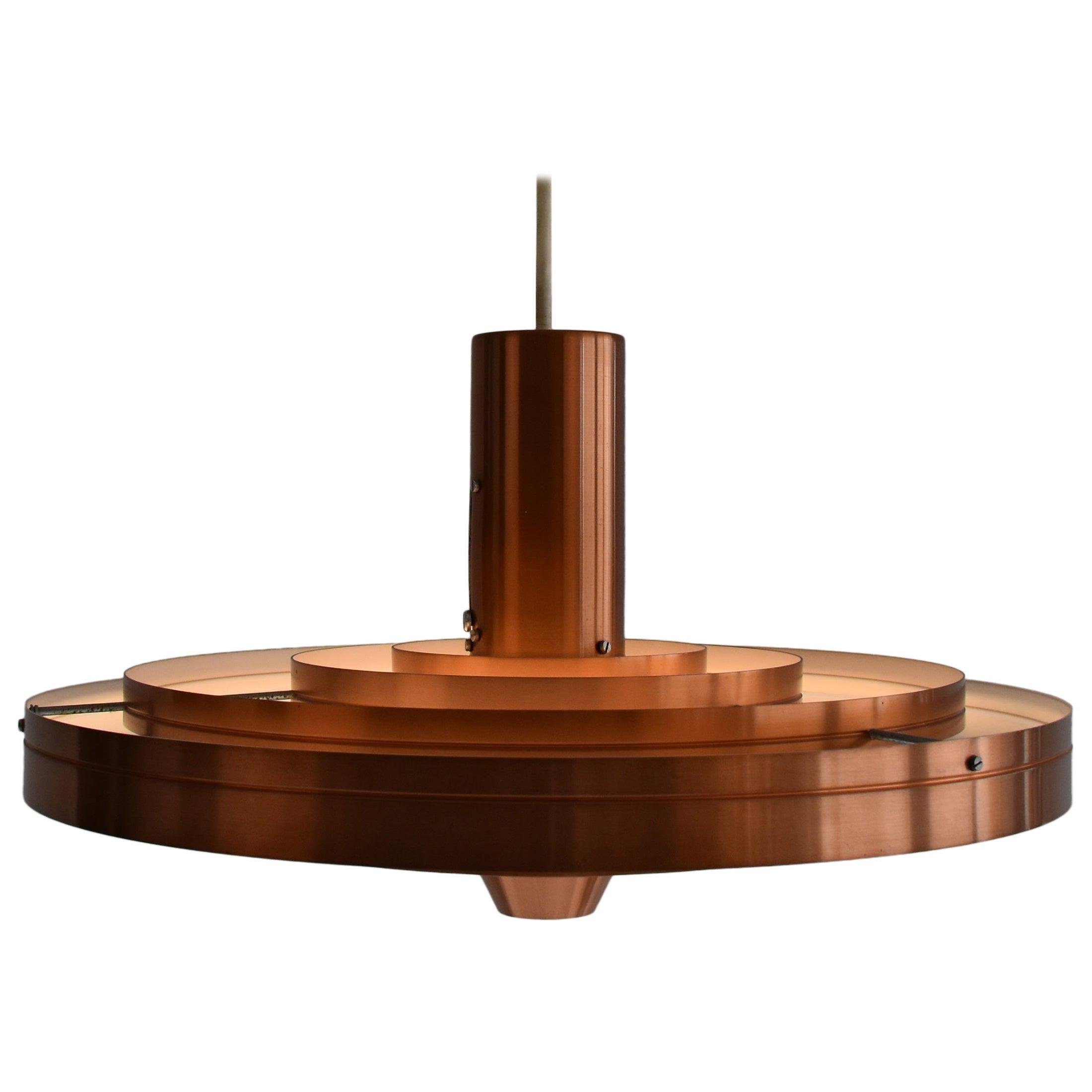 """Space Age Lamp """"Fibonacci"""" by Sophus Frandsen for Fog & Mørup, 1960s, Denmark"""
