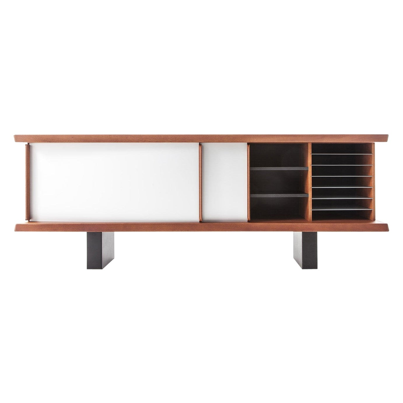 Charlotte Perriand 513 Riflesso Storage Unit by Cassina