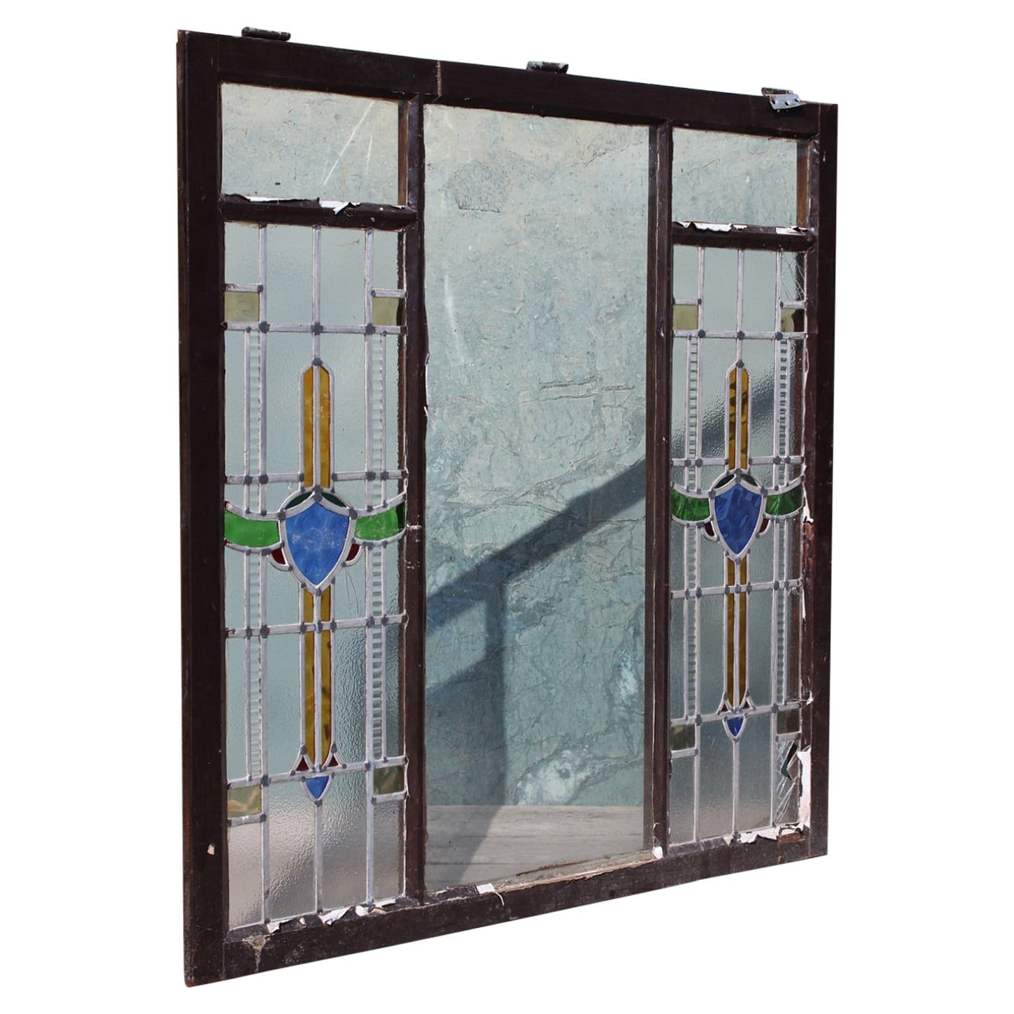 Lead Stained Glass Window, 20th Century