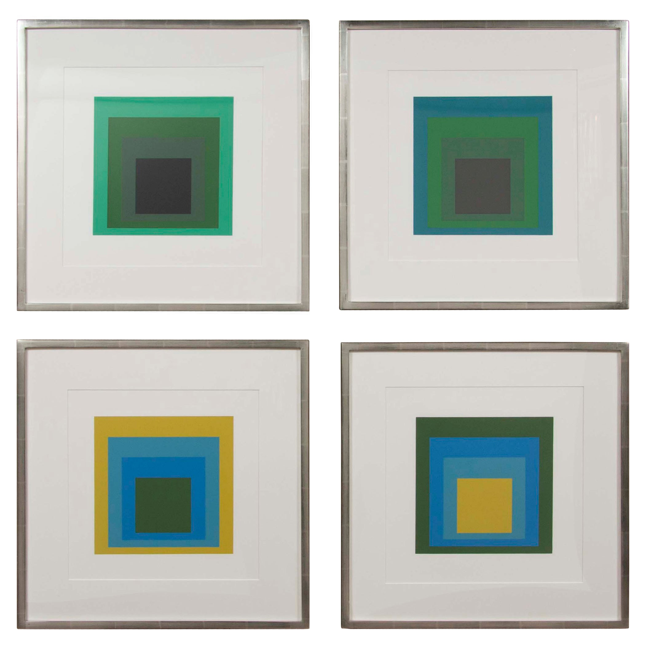 Josef Albers Homage to the Square Priced Individually