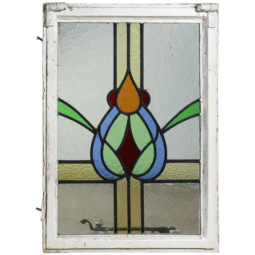 Reclaimed Stained and Leaded Glass Windows, 20th Century