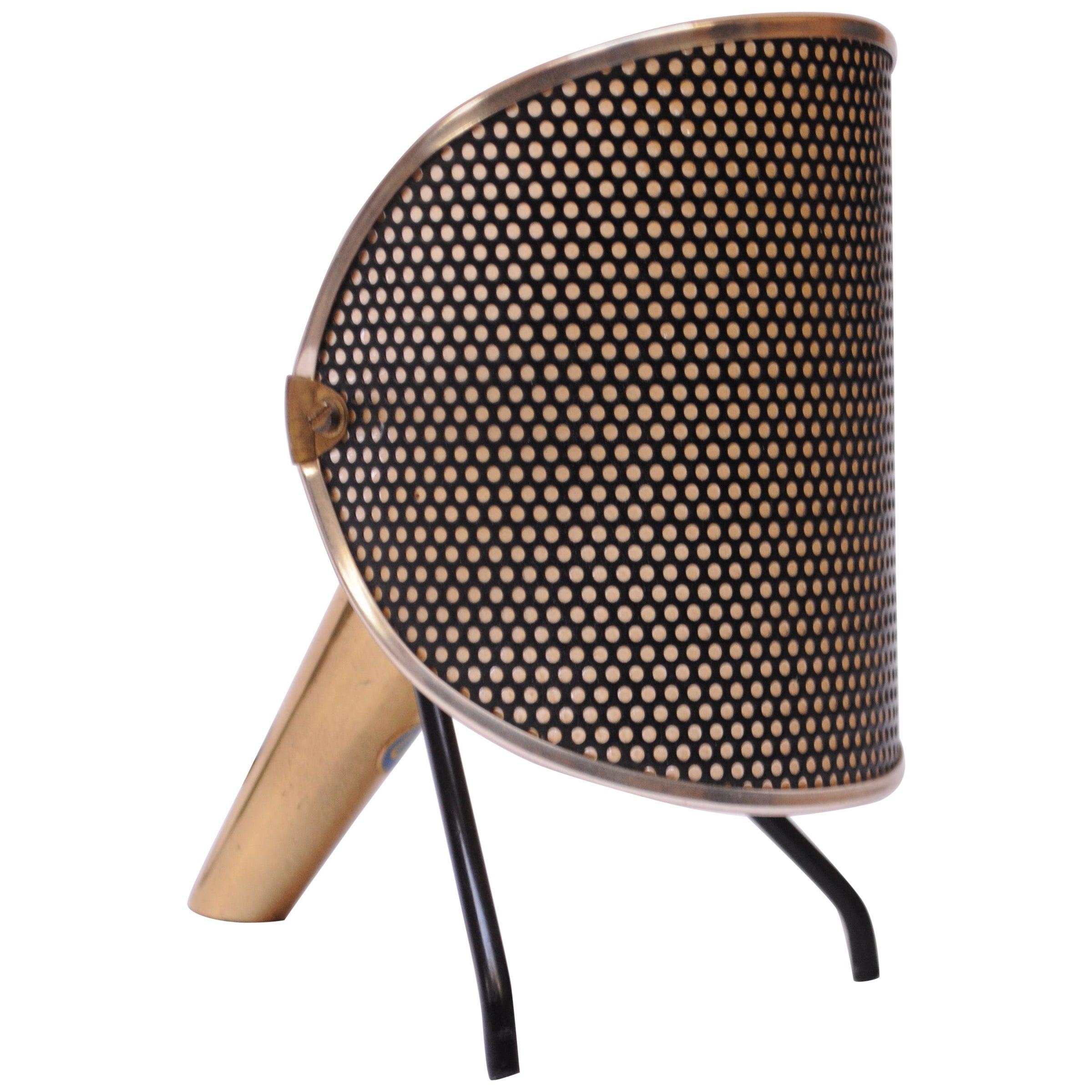 Petite Swedish Table Lamp / Sconce by Ernst Igl for Falkenberg in Brass