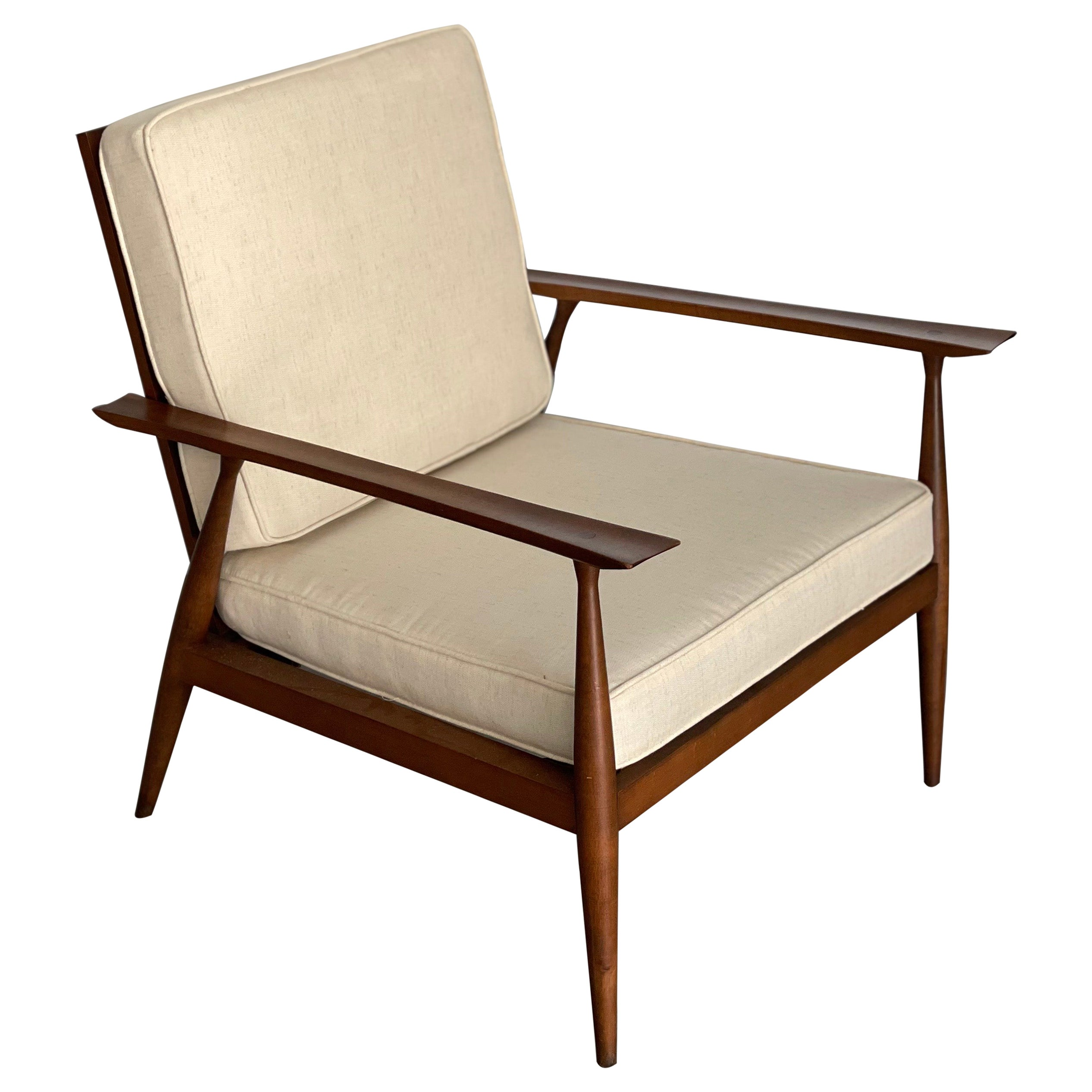 Rare Mid Century Modern Lounge Chair by Paul McCobb for Winchendon