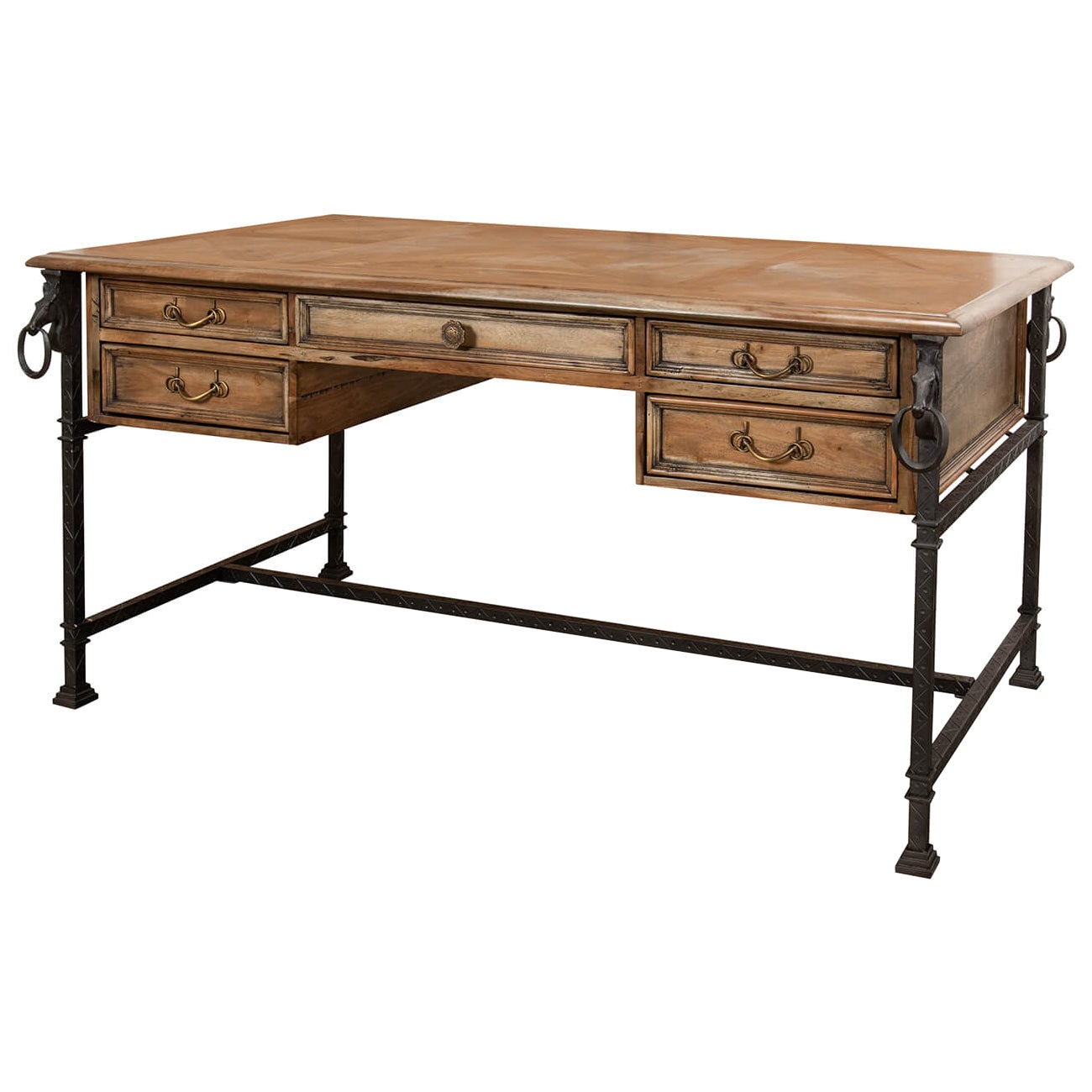 Industrial Equestrian Desk