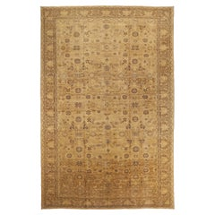 Antique Persian Area Rug Malayer Design