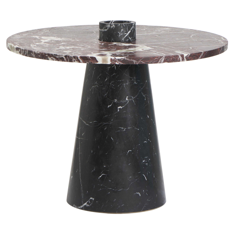 Black Inside Out Coffee Table Set by Karen Chekerdjian