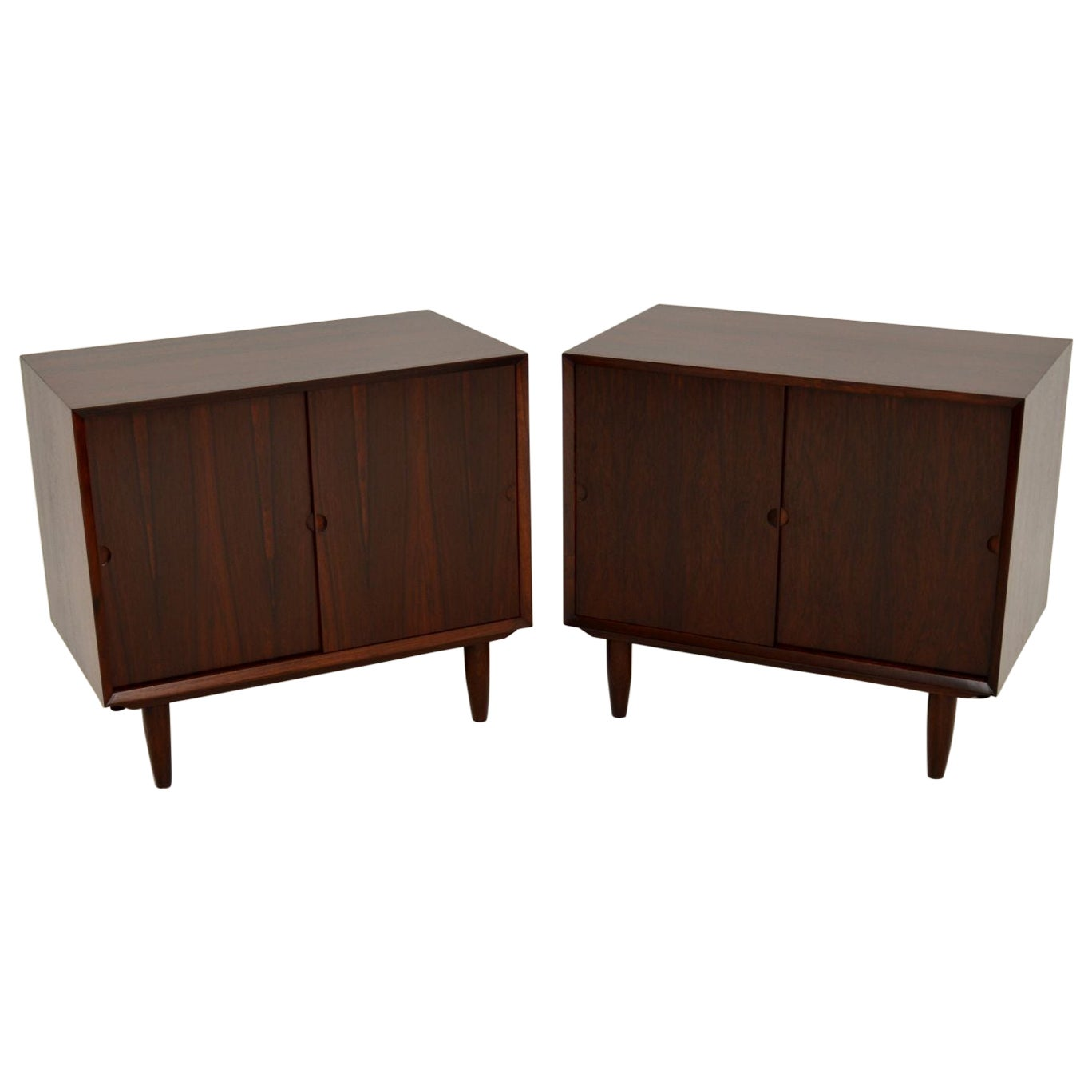 Pair of Danish Vintage Cabinets by Poul Cadovius
