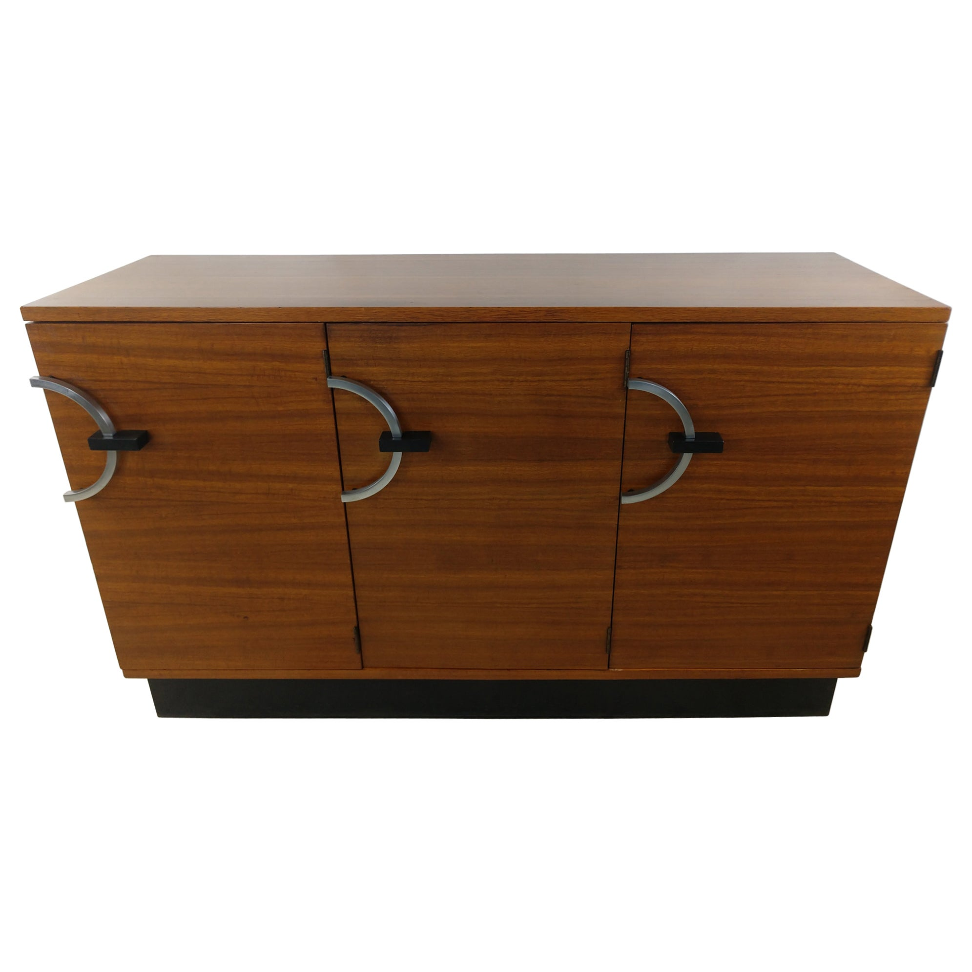 Art Deco Credenza Bar Server by Gilbert Rohde for Herman Miller