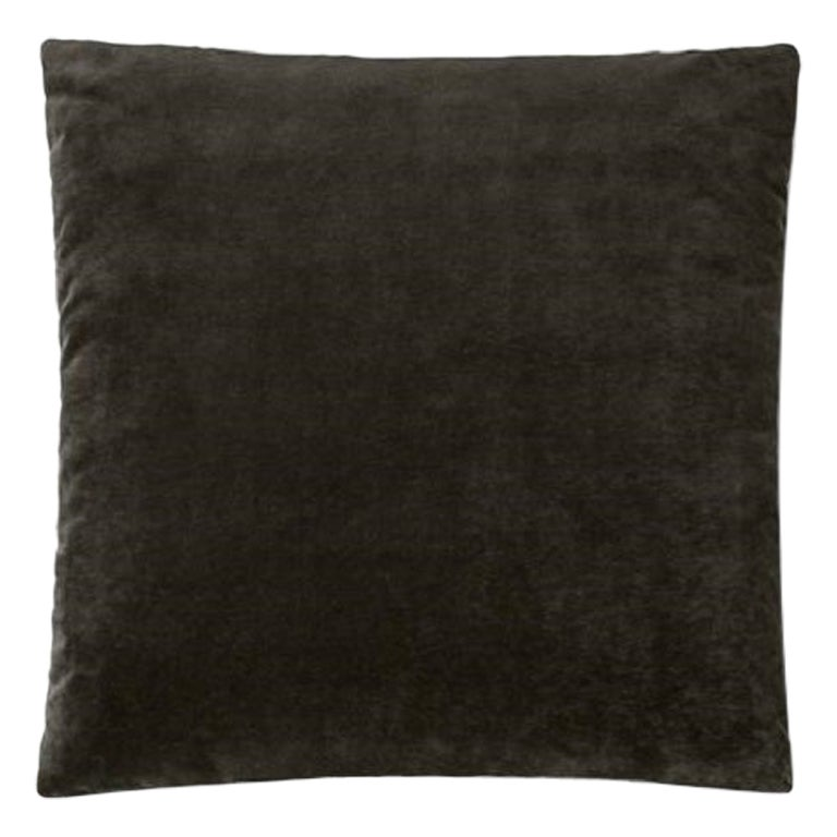 Molteni&C Square Decorative Cushion Velvet