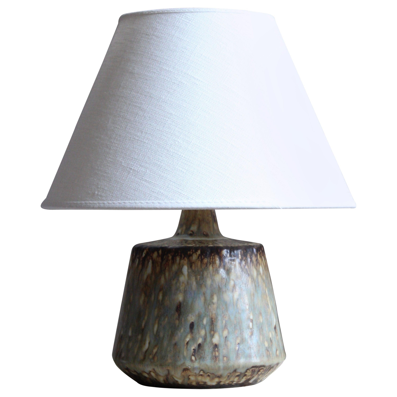 Gunnar Nylund, Table Lamp, Glazed Stoneware, Rörstand, Sweden, 1950s