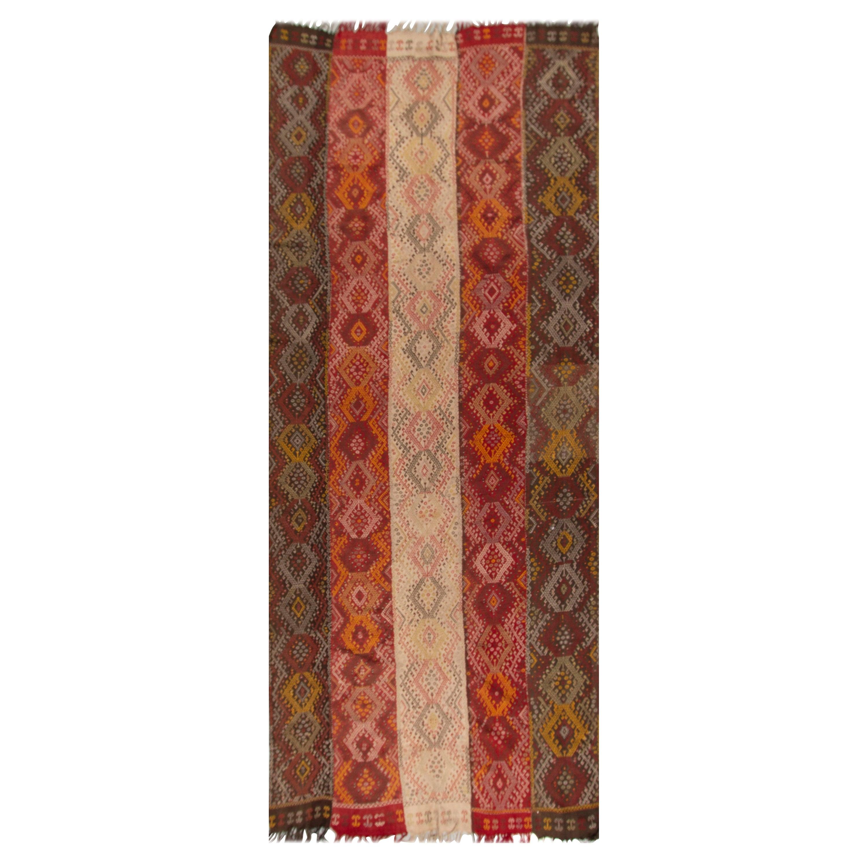 Antique Flatweave Jajim Weaving 5'11 x 14'11.