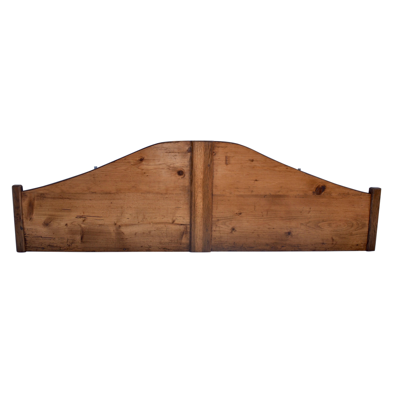 Pine and Oak Full Size Headboard