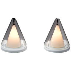 Pair of Italian Modern Table Lamps, Italy, 1980s