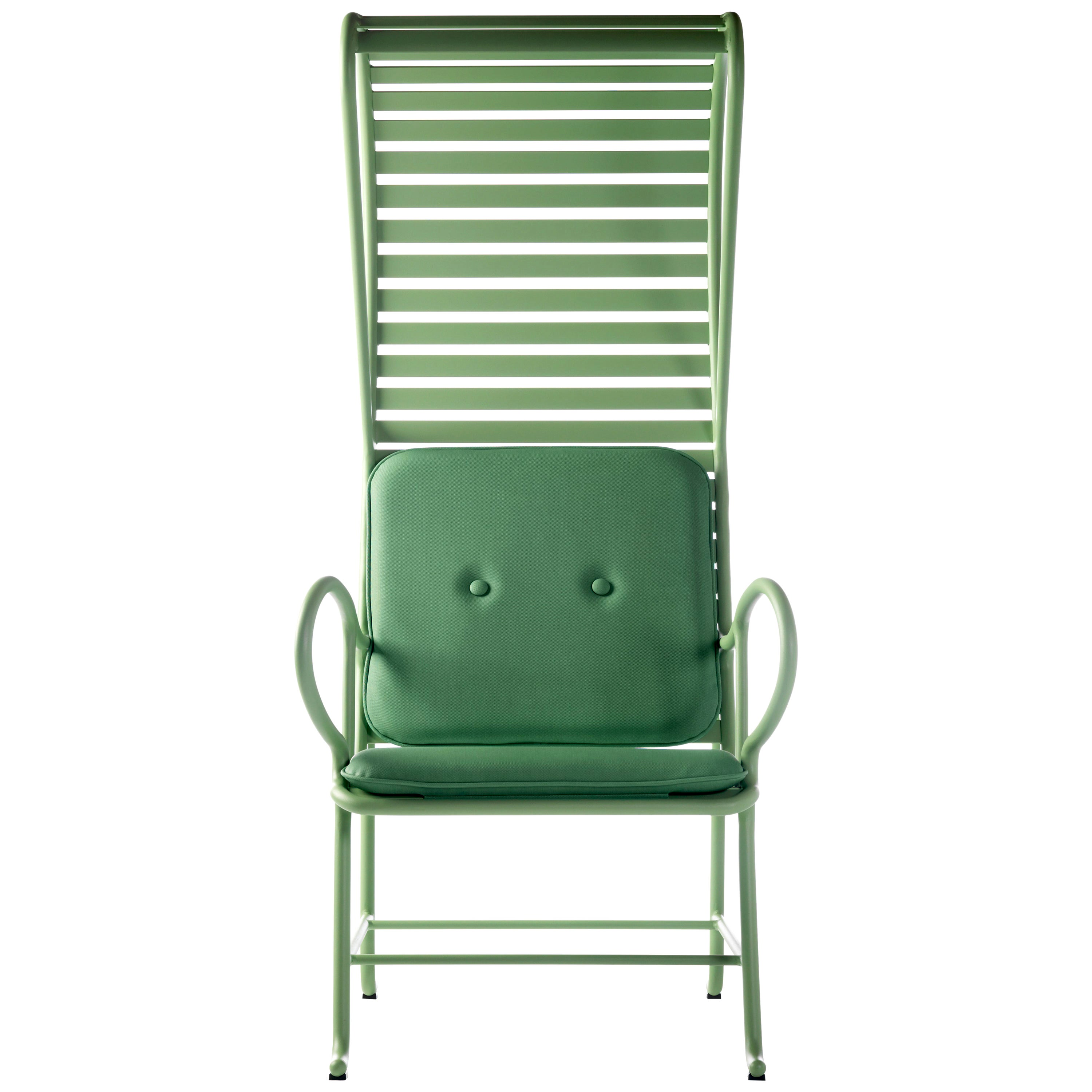 Green Gardenias Armchair with Pergola, Outdoor by Jaime Hayon
