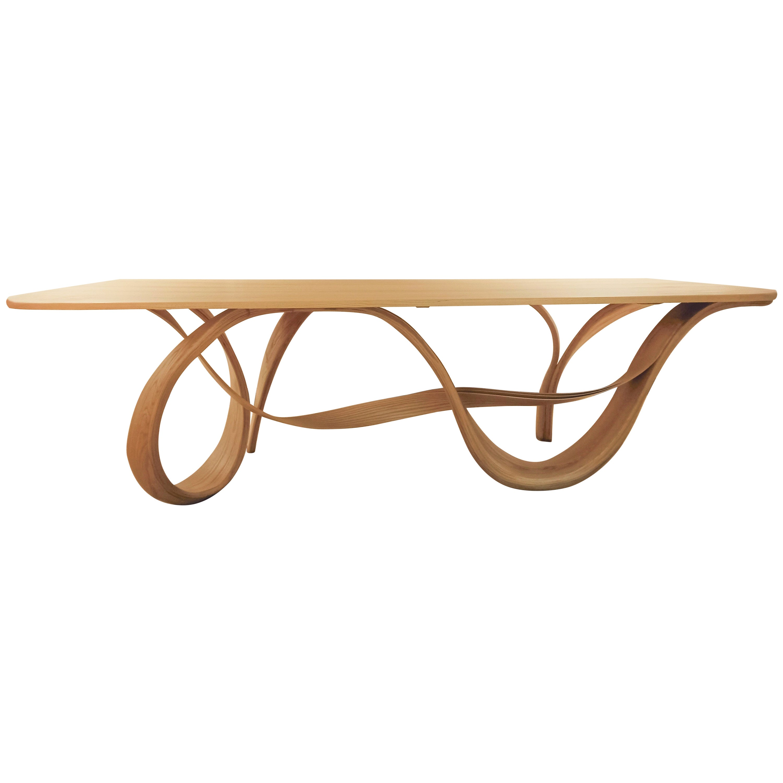 Raja - Dining table by Raka Studio - Bent Wood