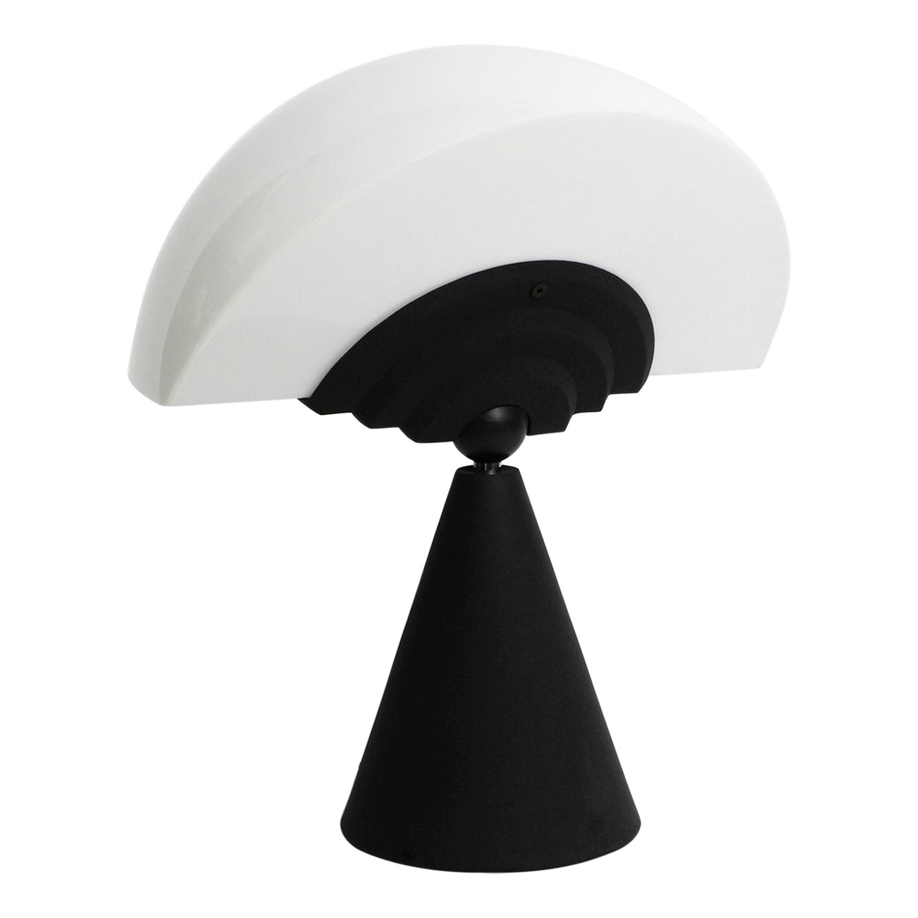 Large Table Lamp Model Slice by Hans Von Klier for Bilumen, 1987