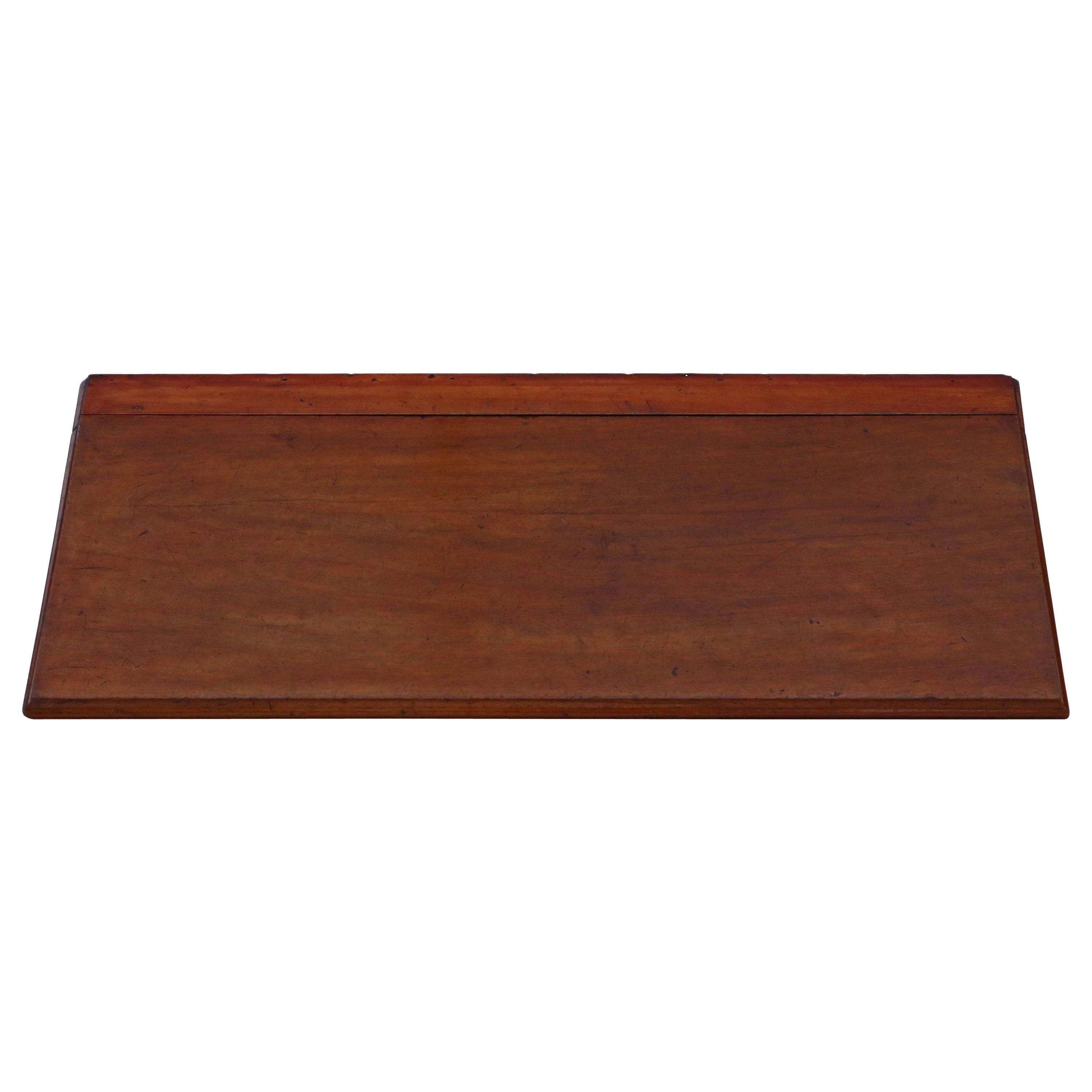 Antique 19th Century Mahogany Folding Butler's Table or Shelf