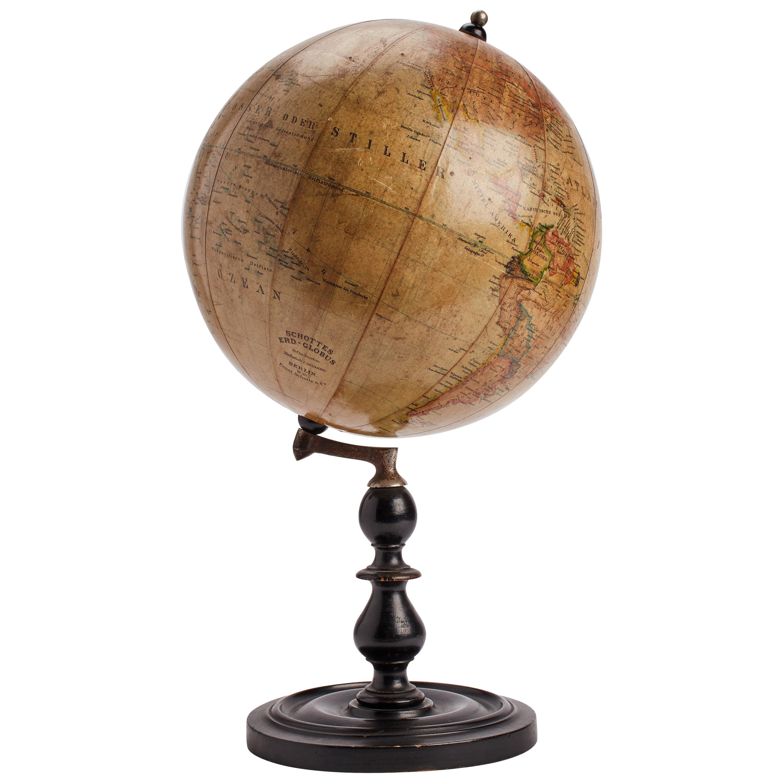 Terrestral Globe, Germany, 1890