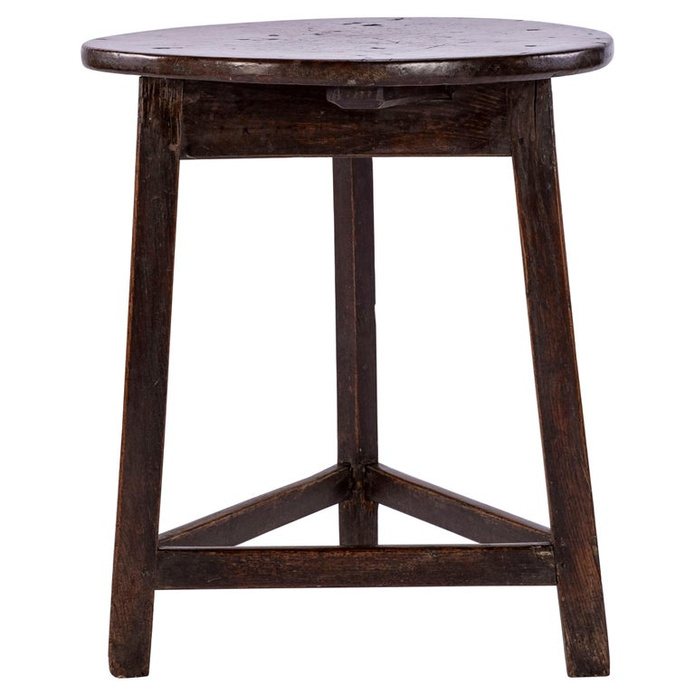19th Century Cricket Table For Sale