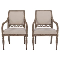 Pair of Gustavian Armchairs