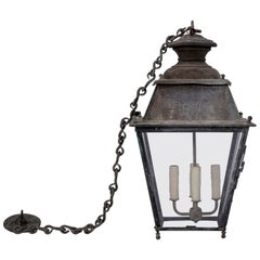19th Century Lantern 'Wired/Ready to Hang'