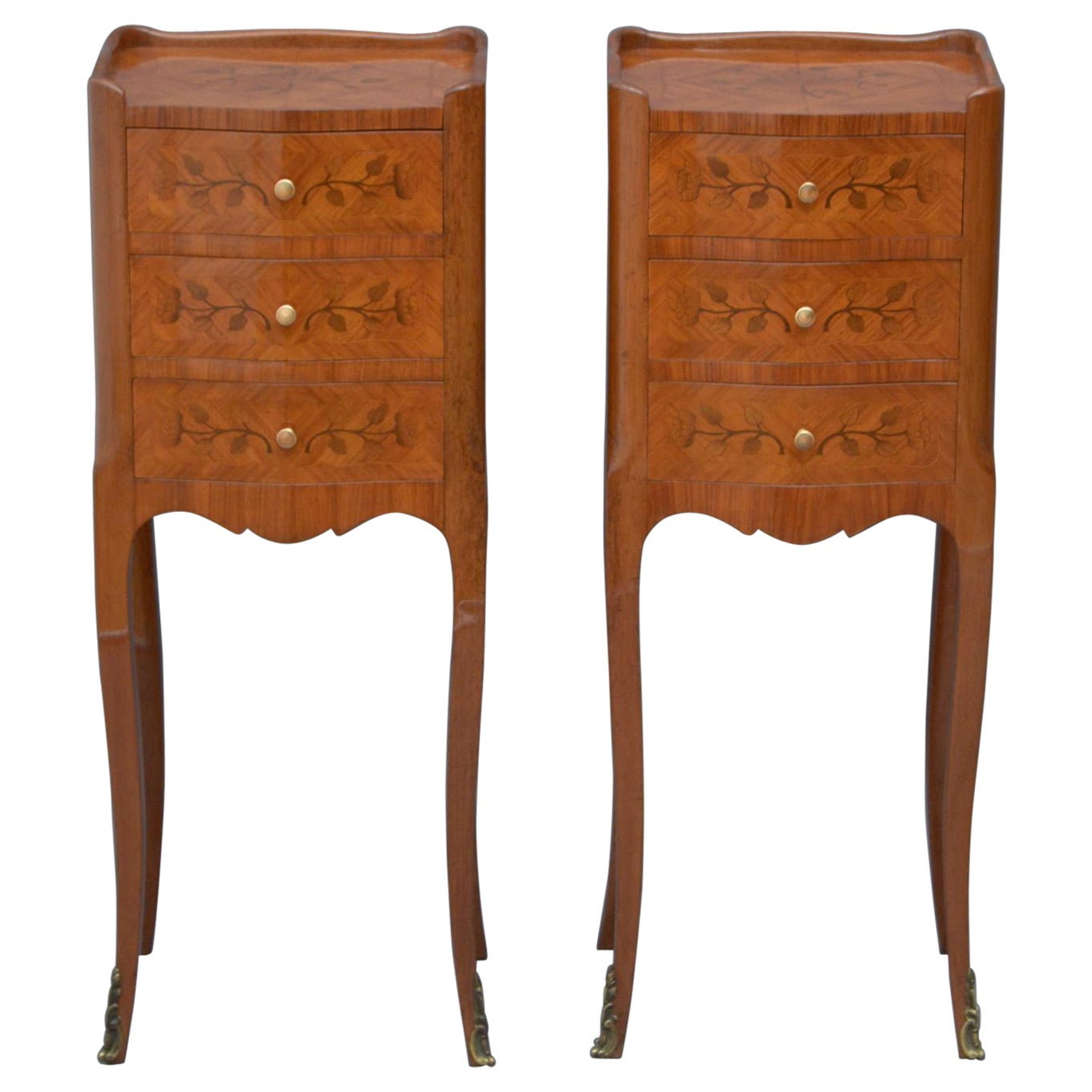Pair of Bedside Cabinets Chests