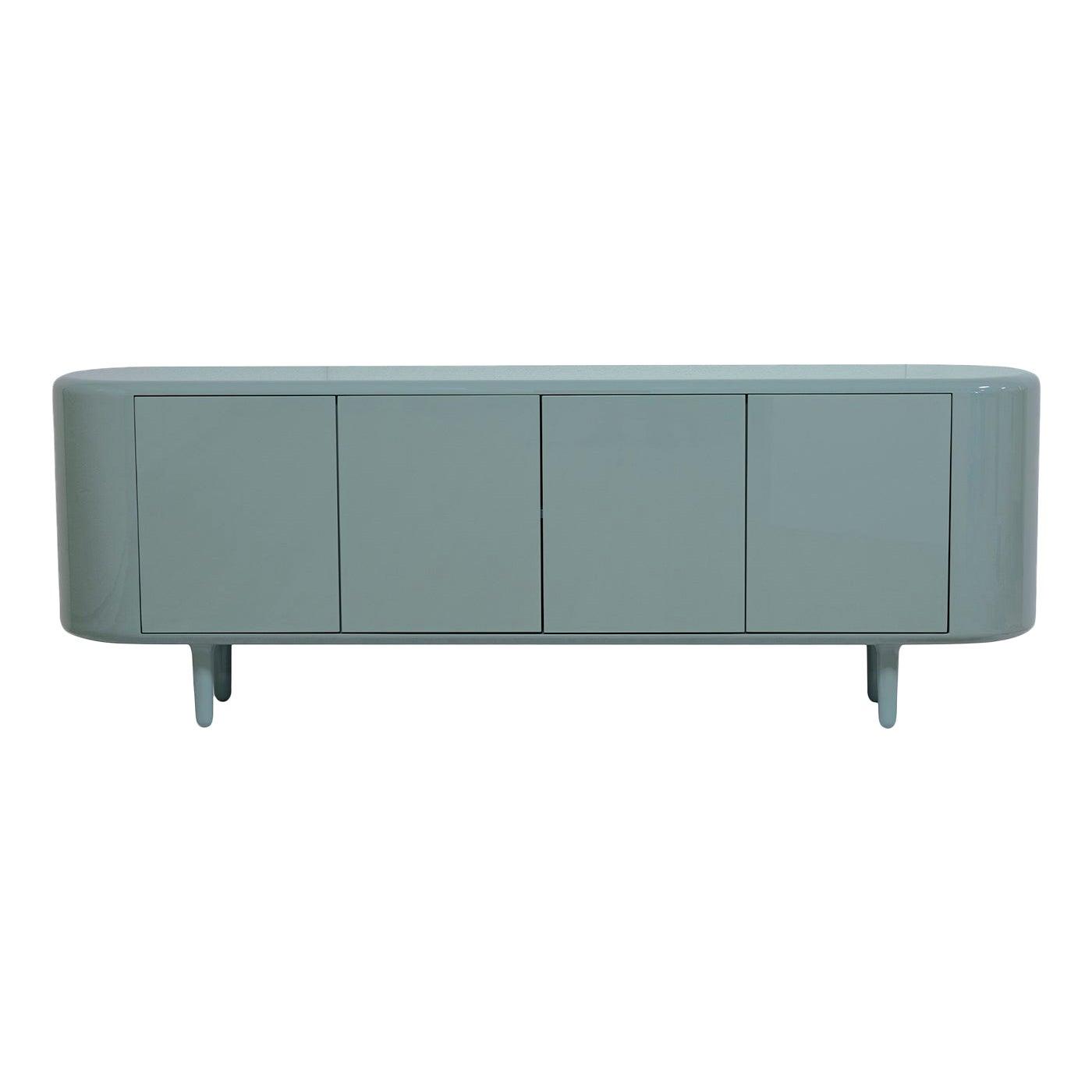 Settebello Blue Cabinet by Matteo Zorzenoni