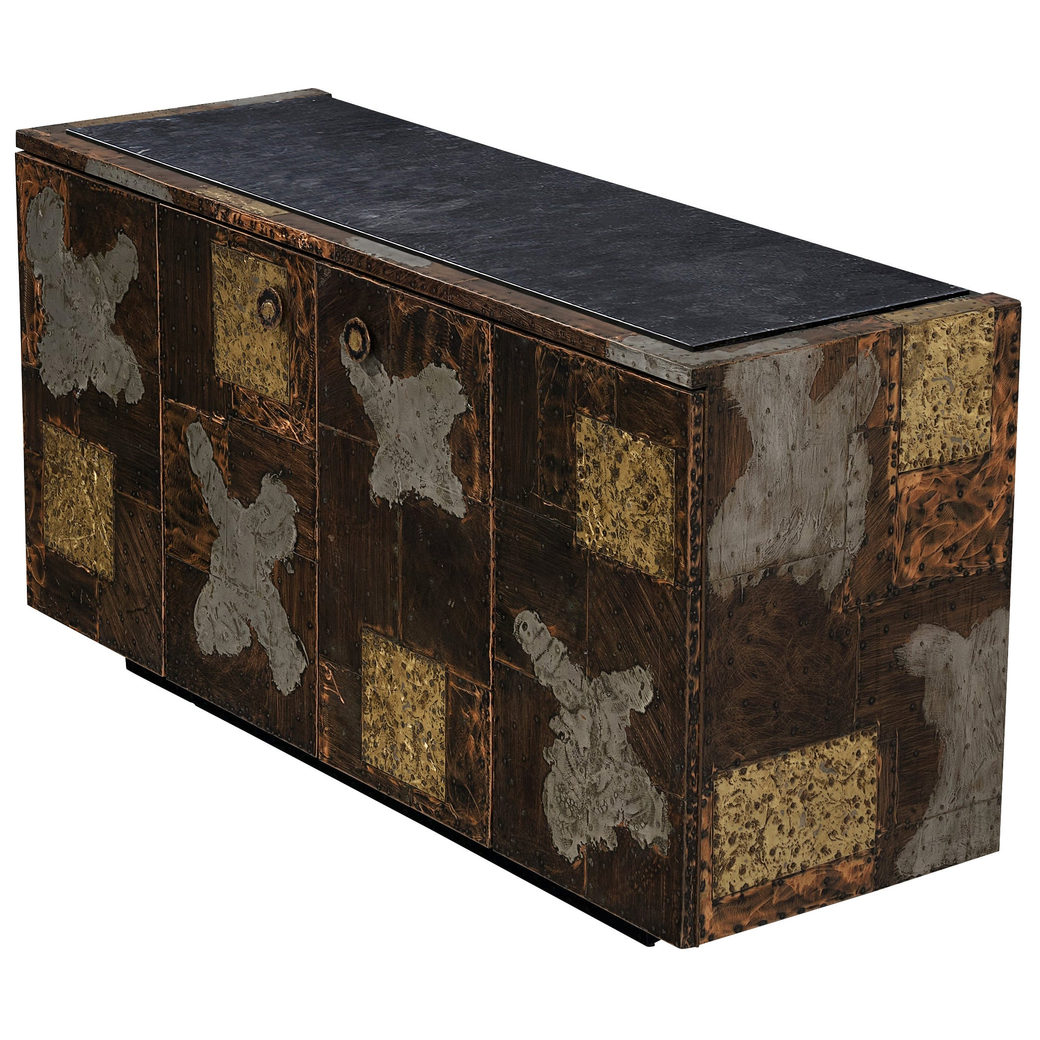 Paul Evans for Directional 'Patchwork' Sideboard