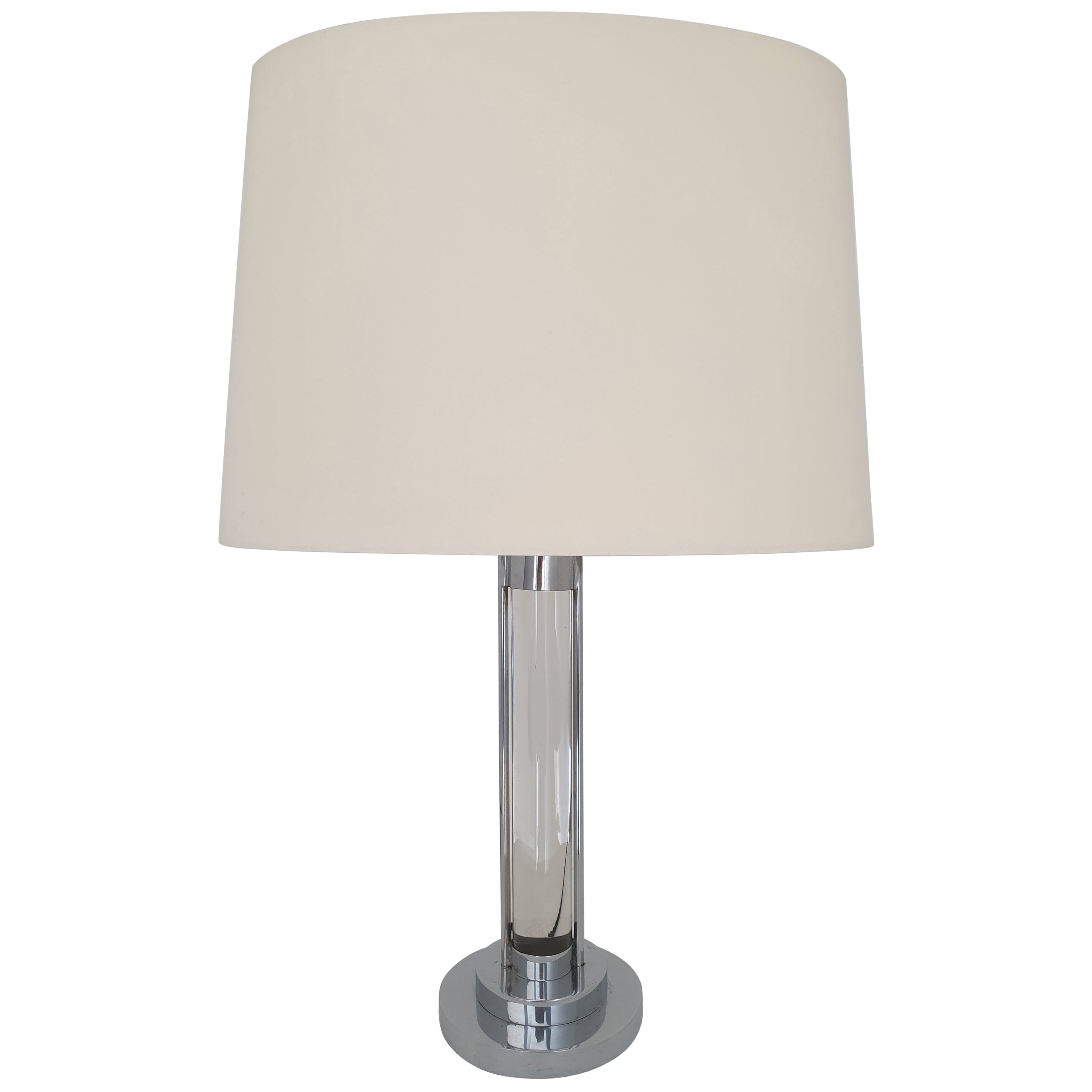 Mid-Century Modern Table Lamp attributed to Jacques Adnet