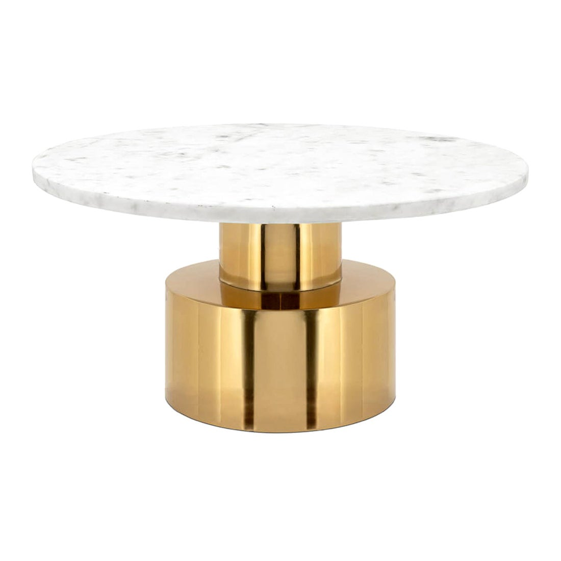 White Stone Coffee Table