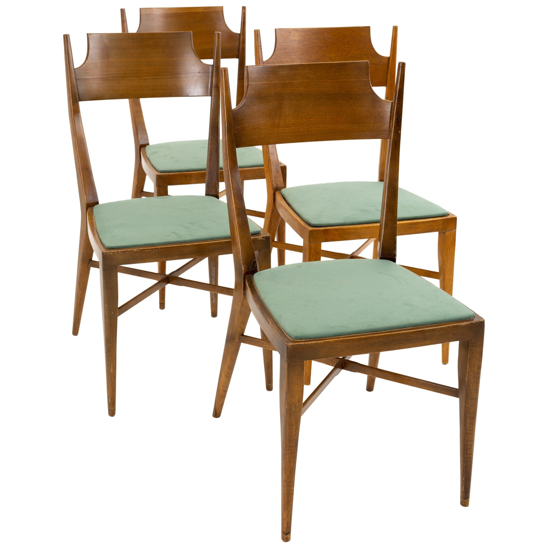 Paul McCobb Mid Century Connoisseur Dining Chairs, Set of 4