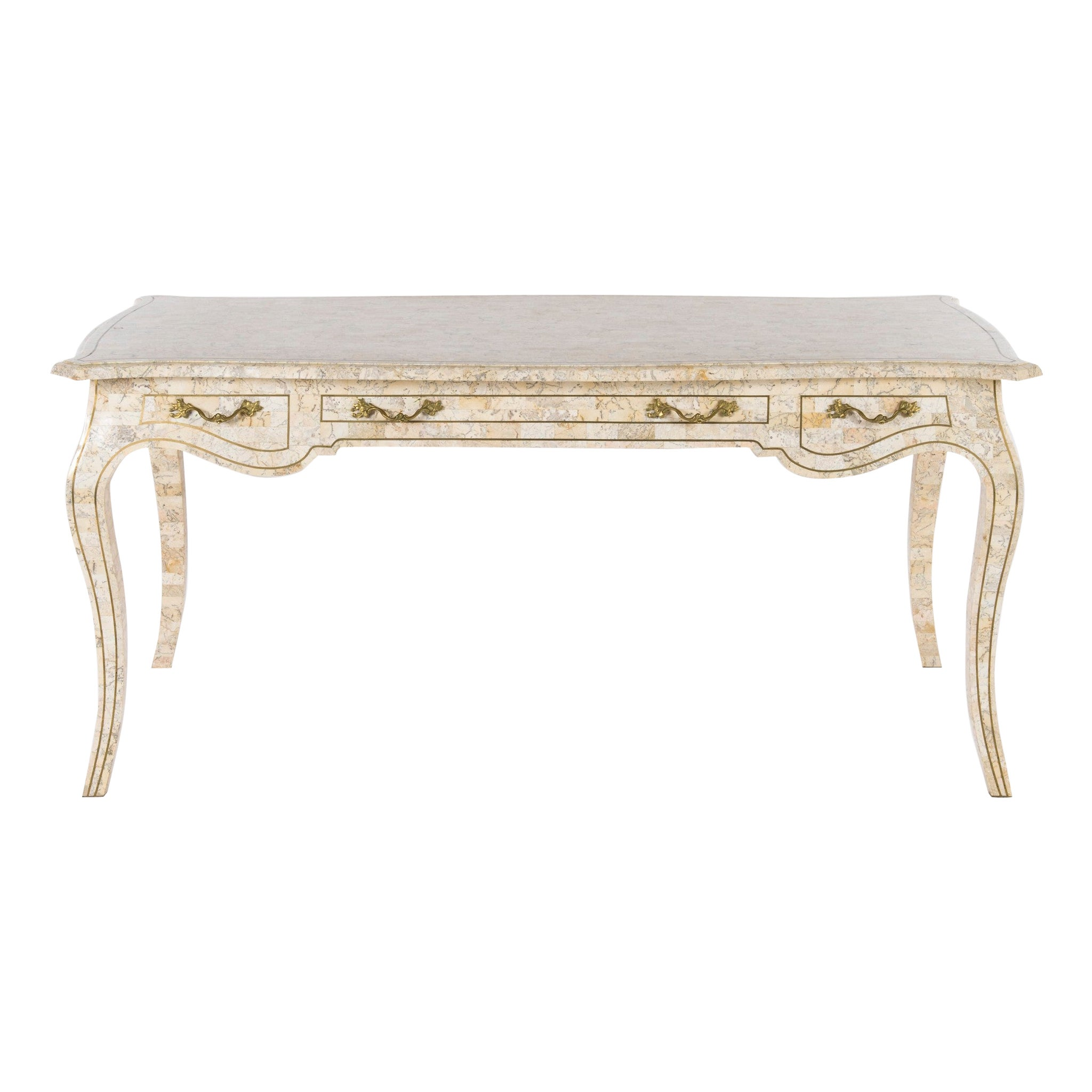 Maitland Smith Tessellated Desk