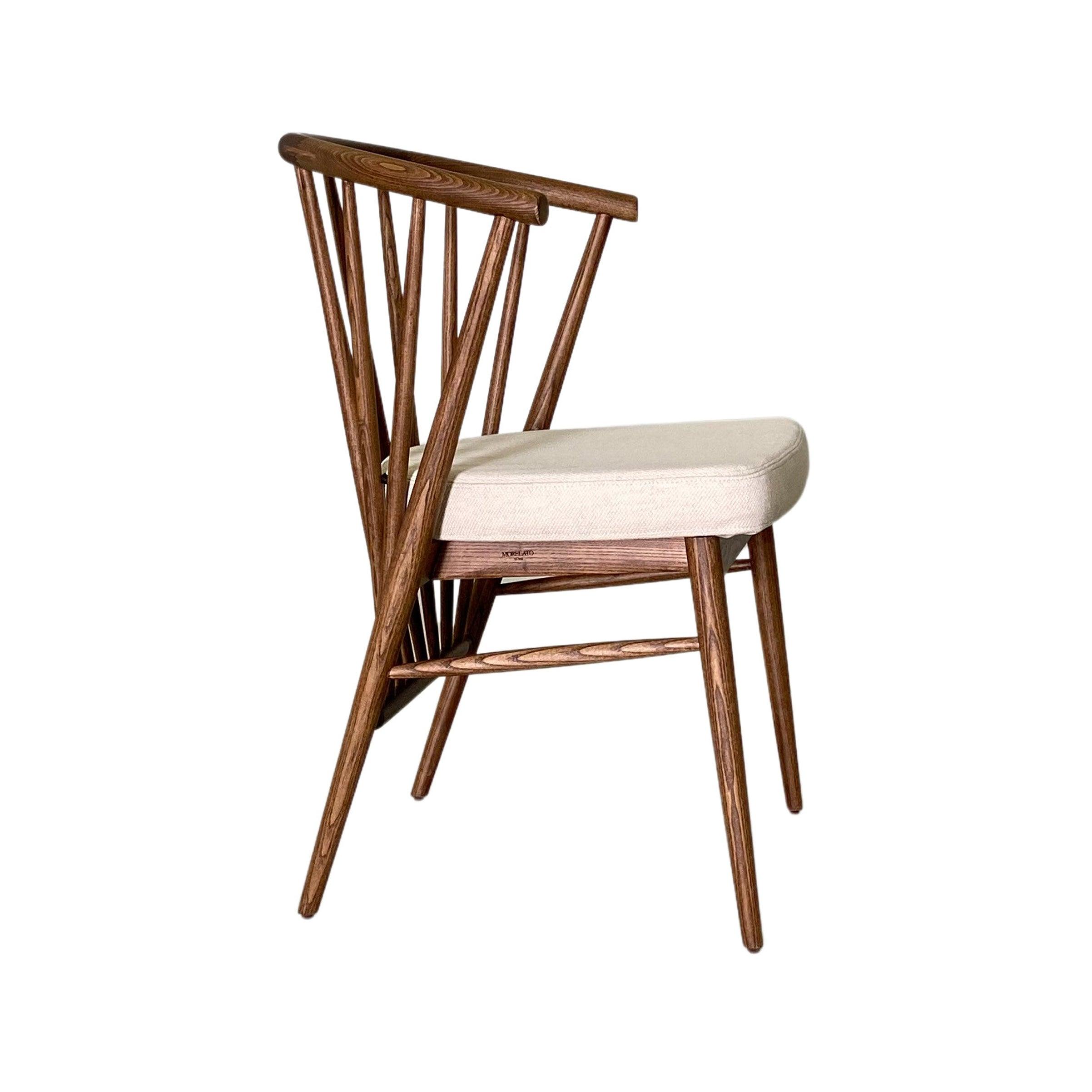 Morelato, Jenny Chair in Ash Wood