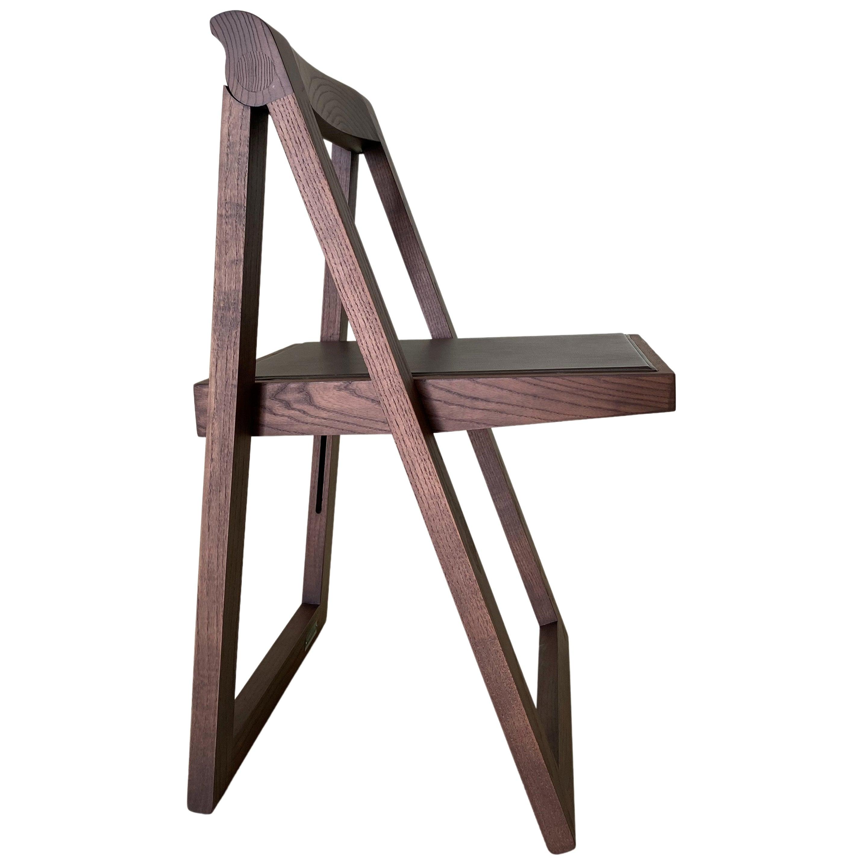 Morelato, Ciak folding Chair in Ash Wood