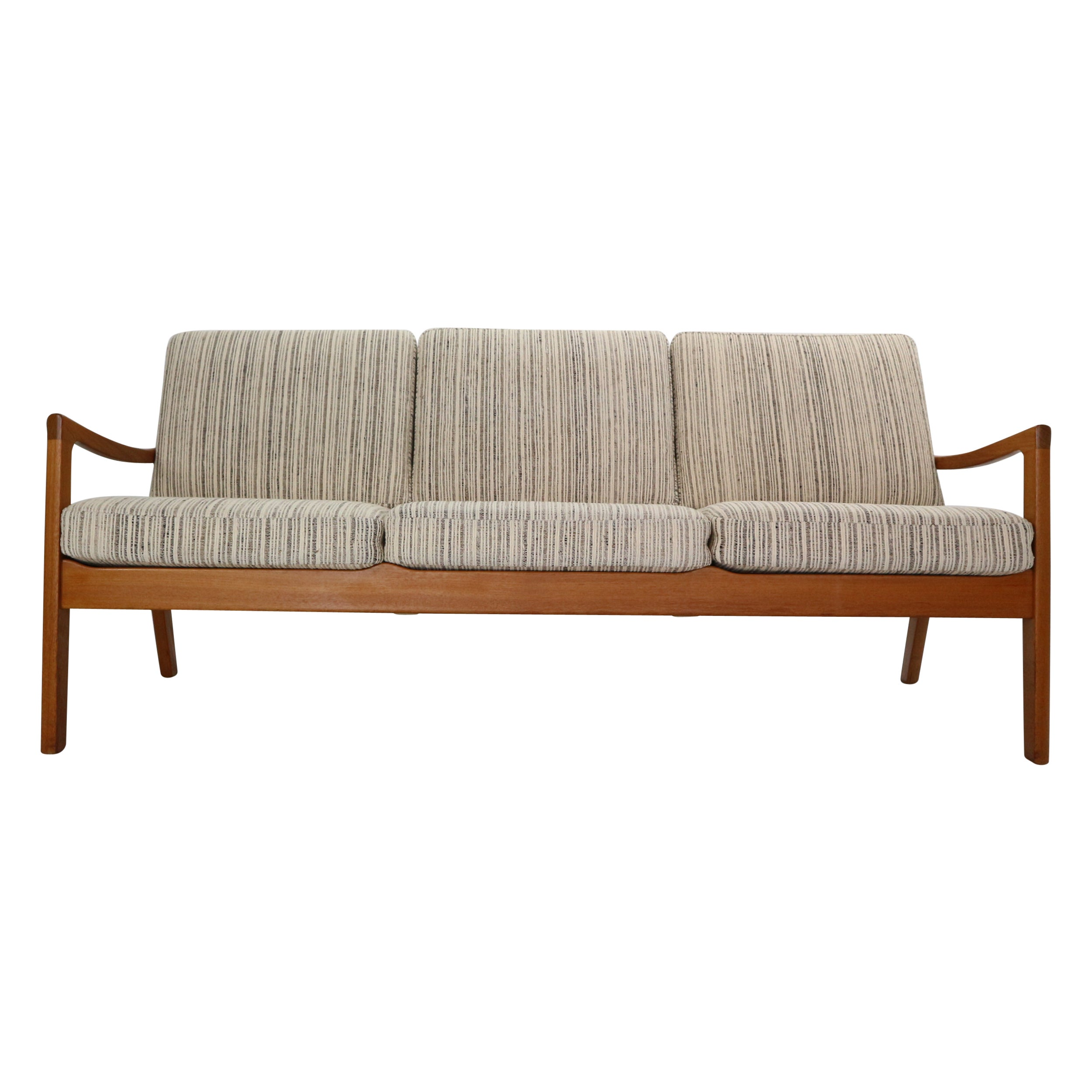 Ole Wanscher Senator 166 Teak 3-Seater Sofa for France & Søn, 1960, Denmark