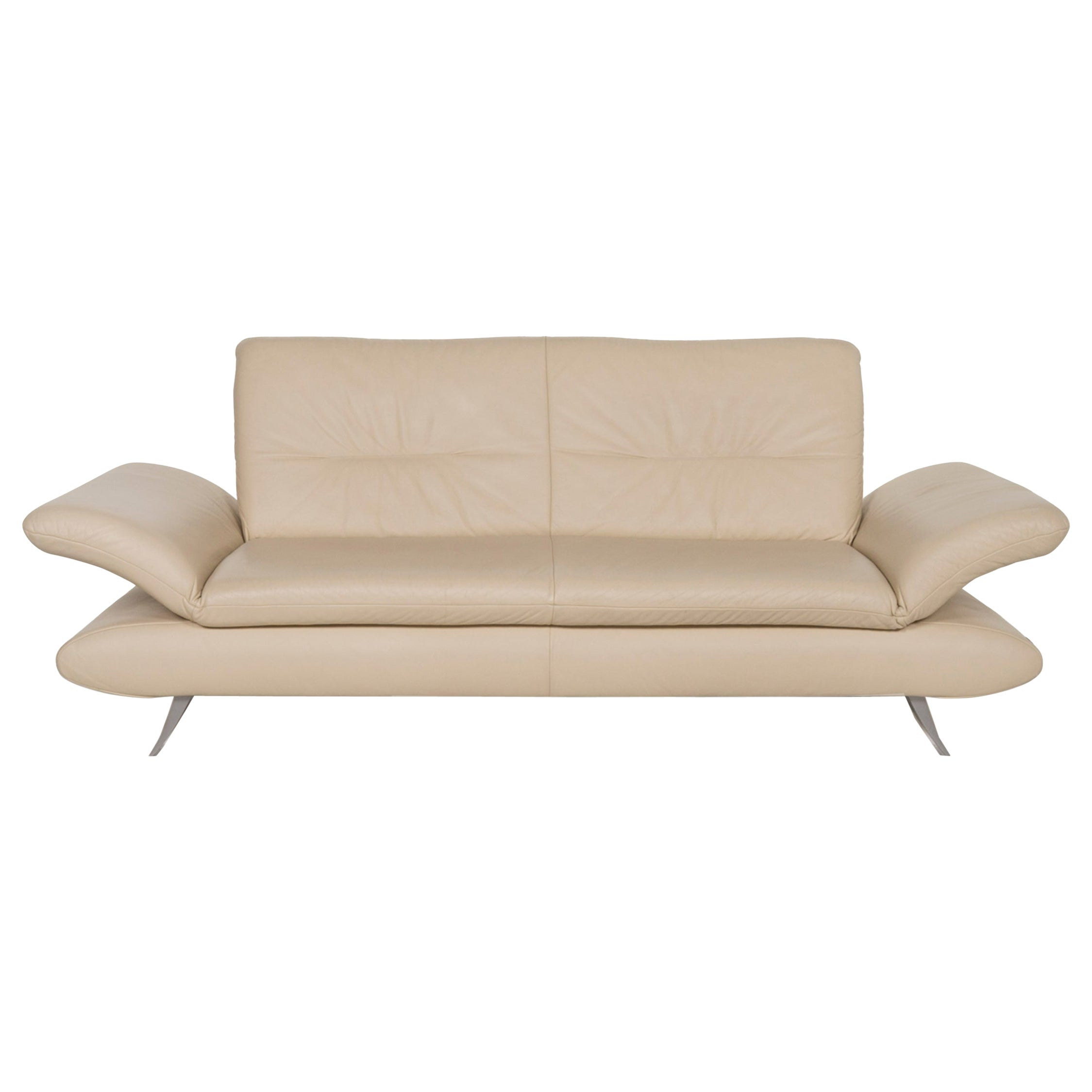 Koinor Rossini Leather Sofa Beige Two-Seater