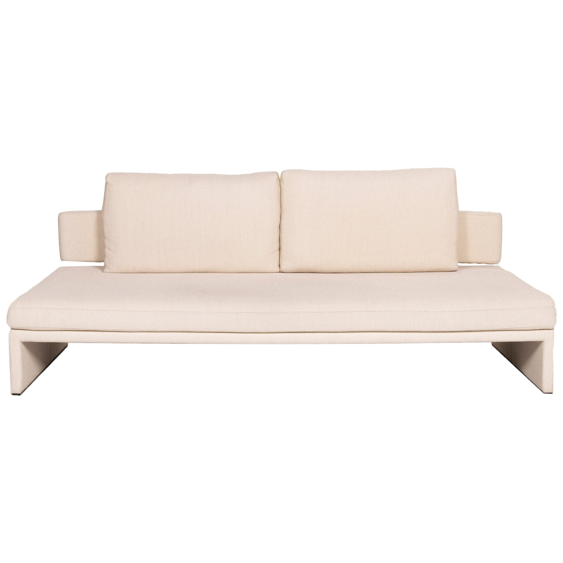 COR Fabric Sofa Cream Three-Seater